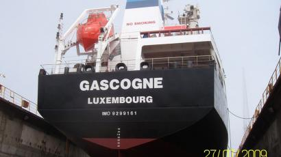 Gascogne, tanker capture by pirates