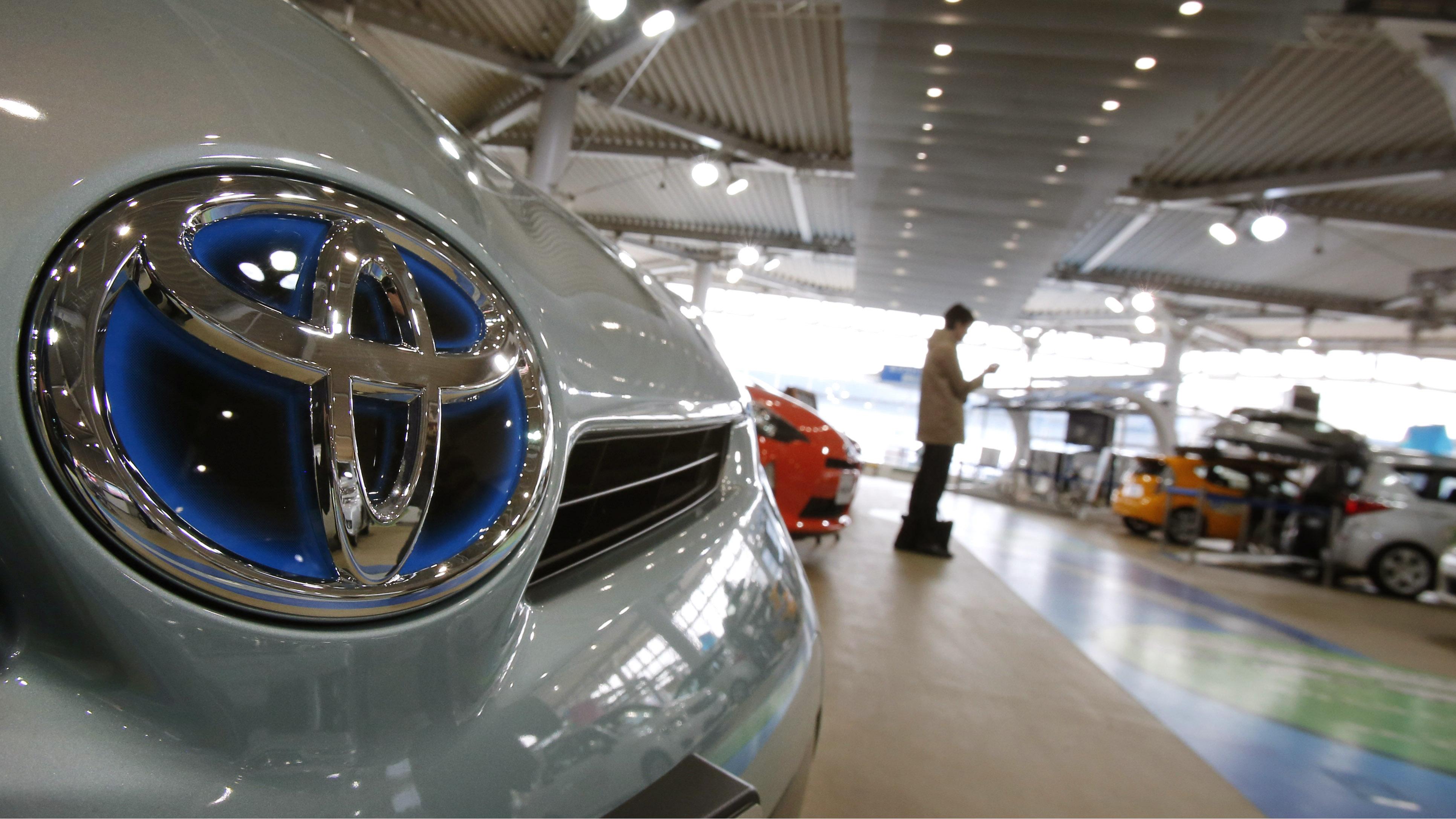 Toyota Earnings Weak yen