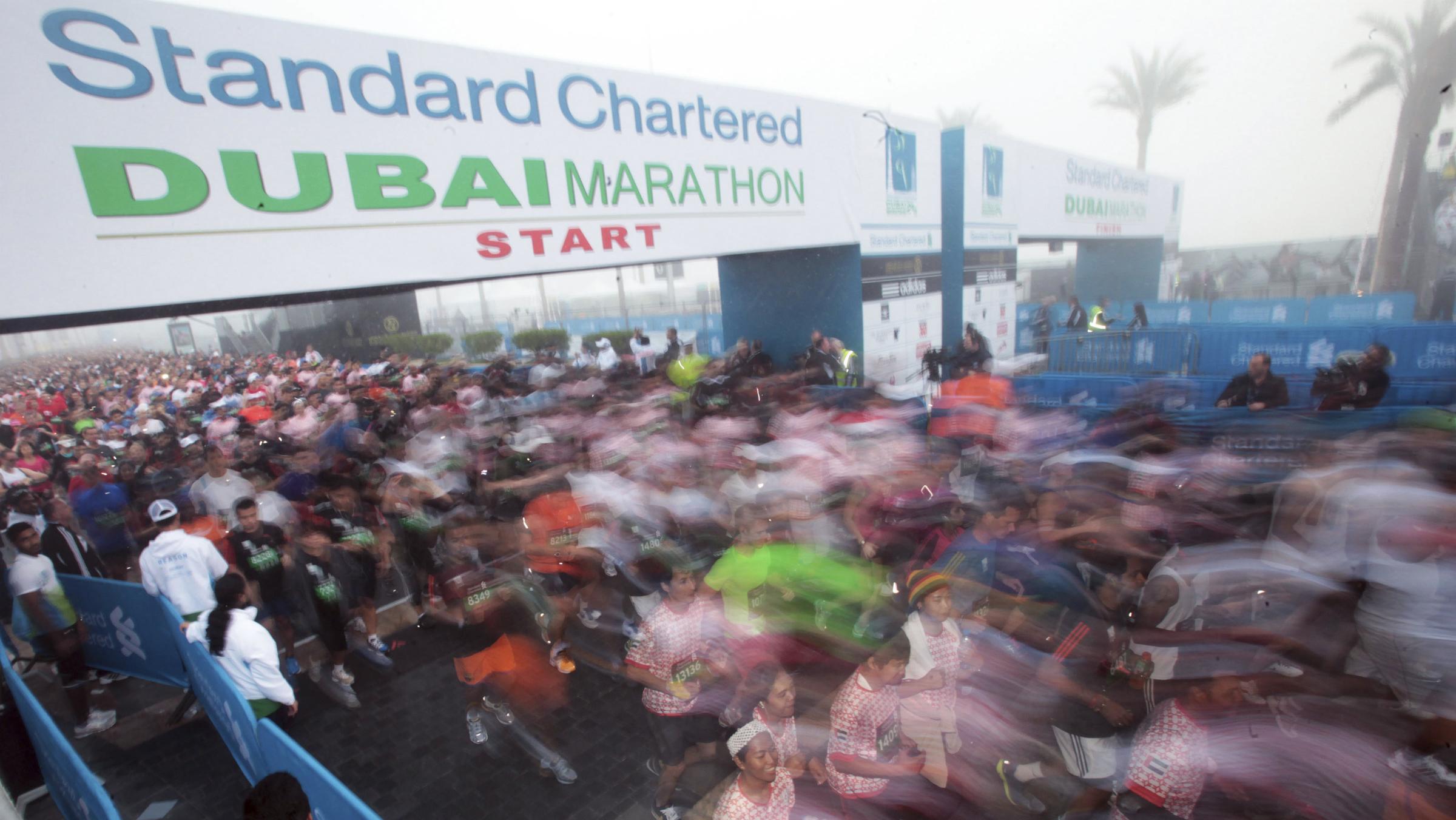 standard chartered global banking dubai marathon
