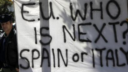 cyprus bailout who's next spain italy precedent
