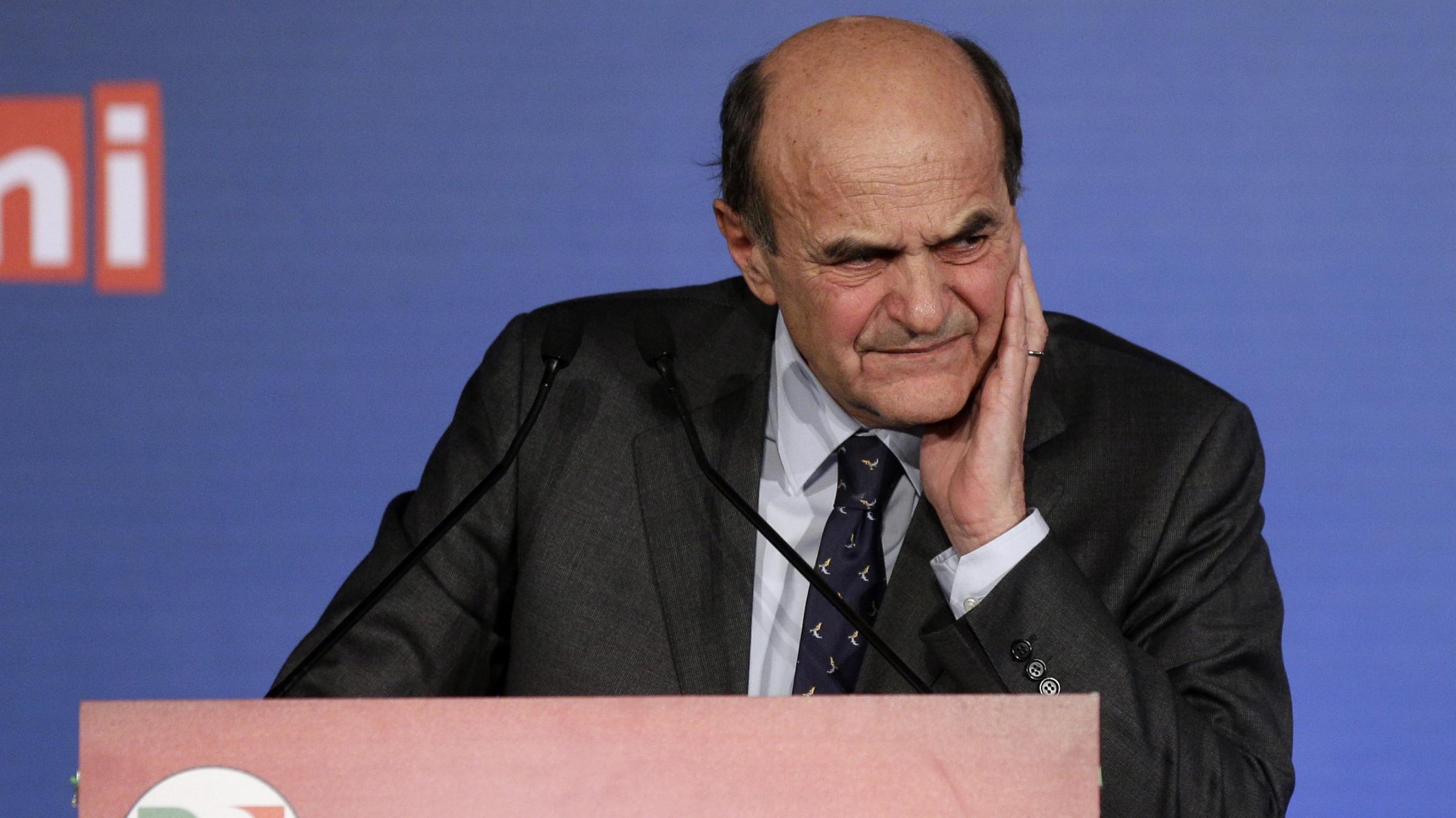 pier luigi bersani italy elections fitch downgrade