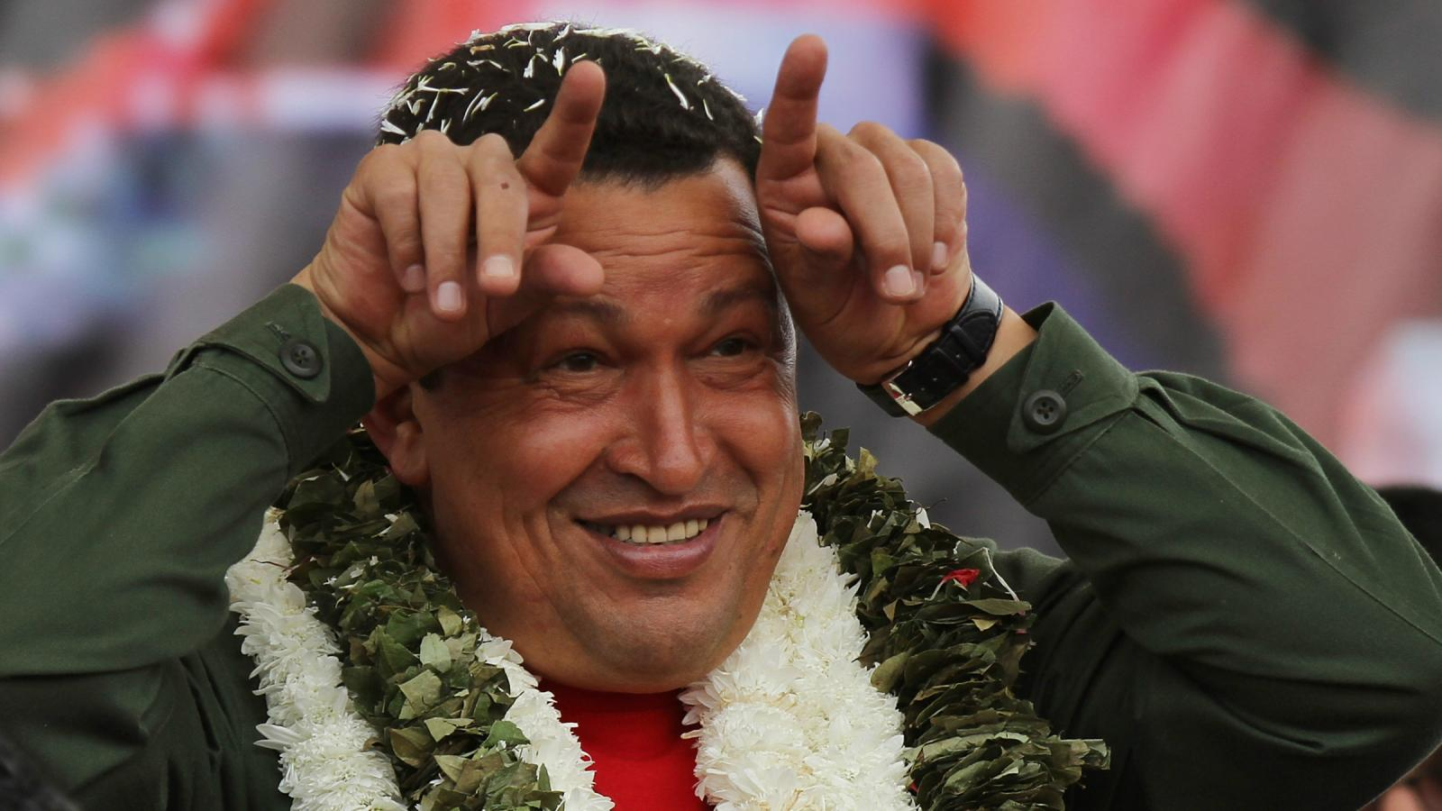 Photos: Hugo Chávez, from military commander to the people's ...
