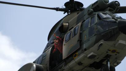Chavez helicopter