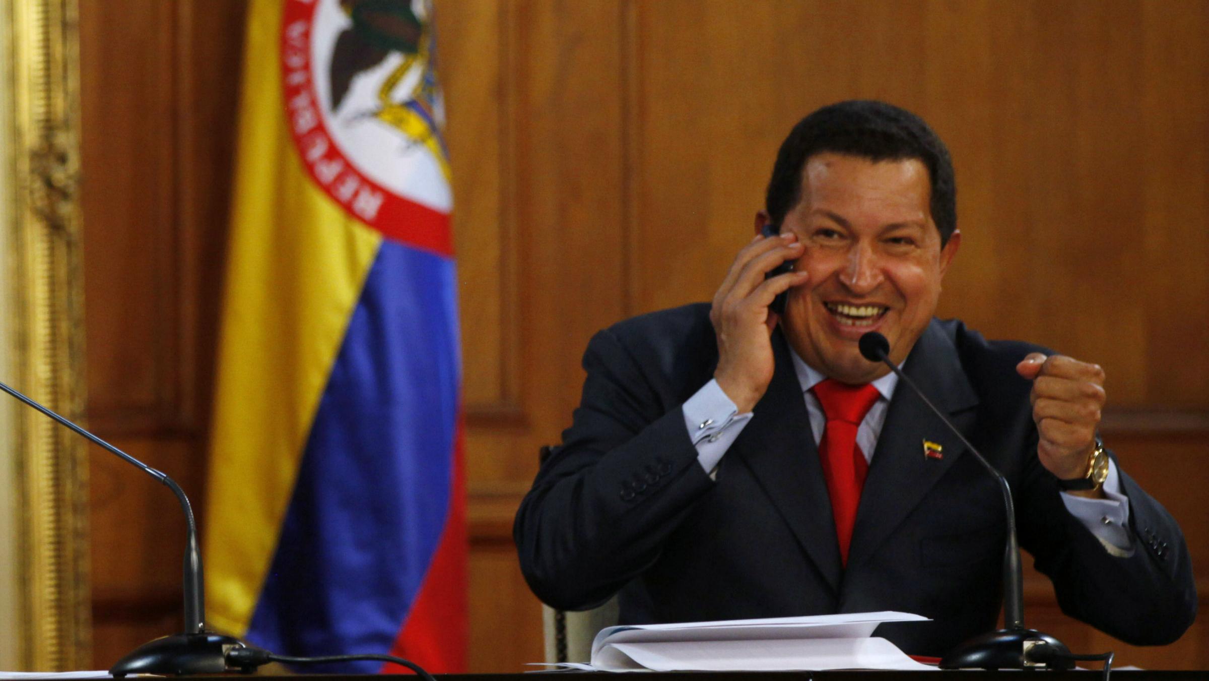 Hugo Chavez mobile