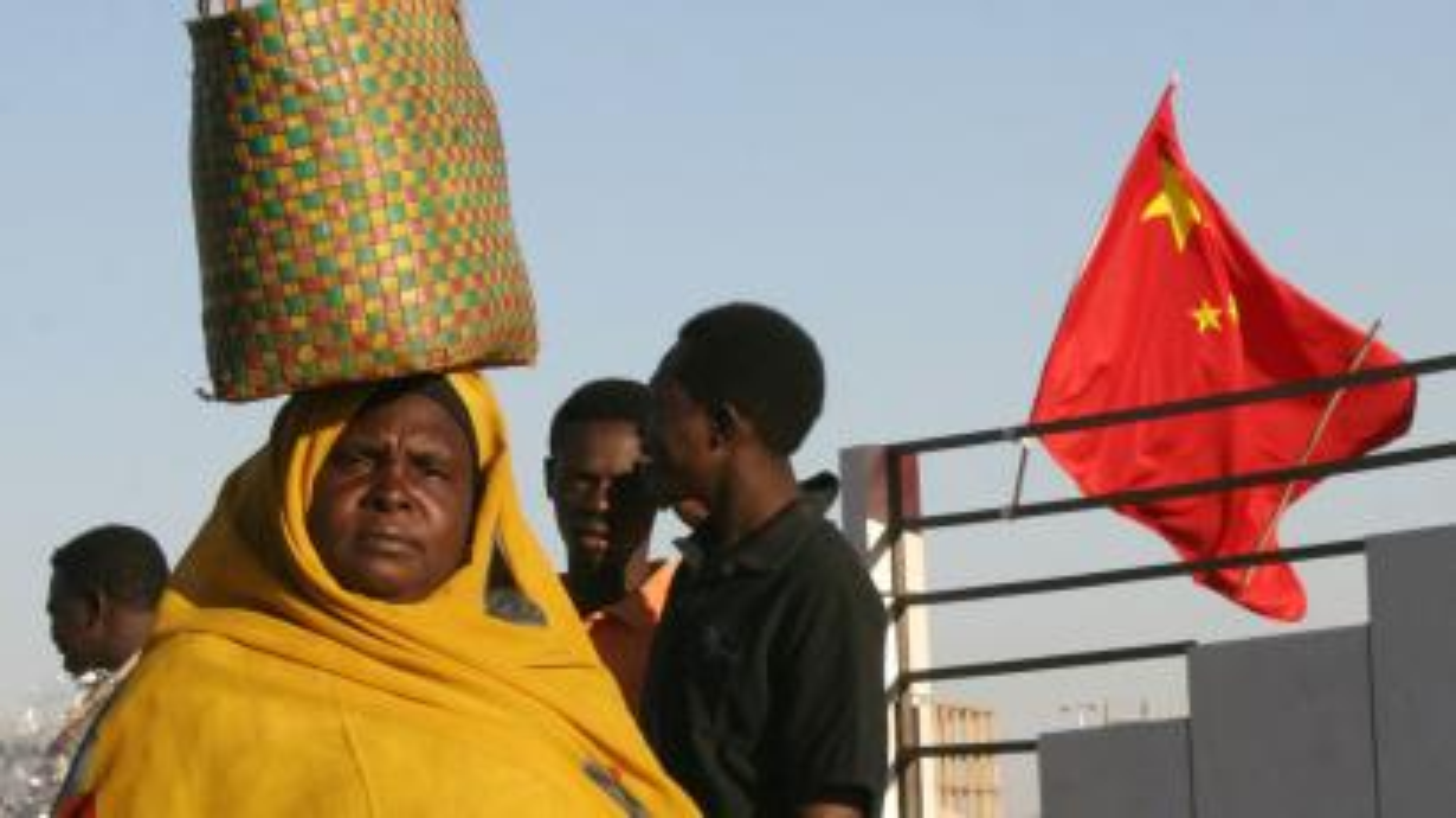 china flag africa