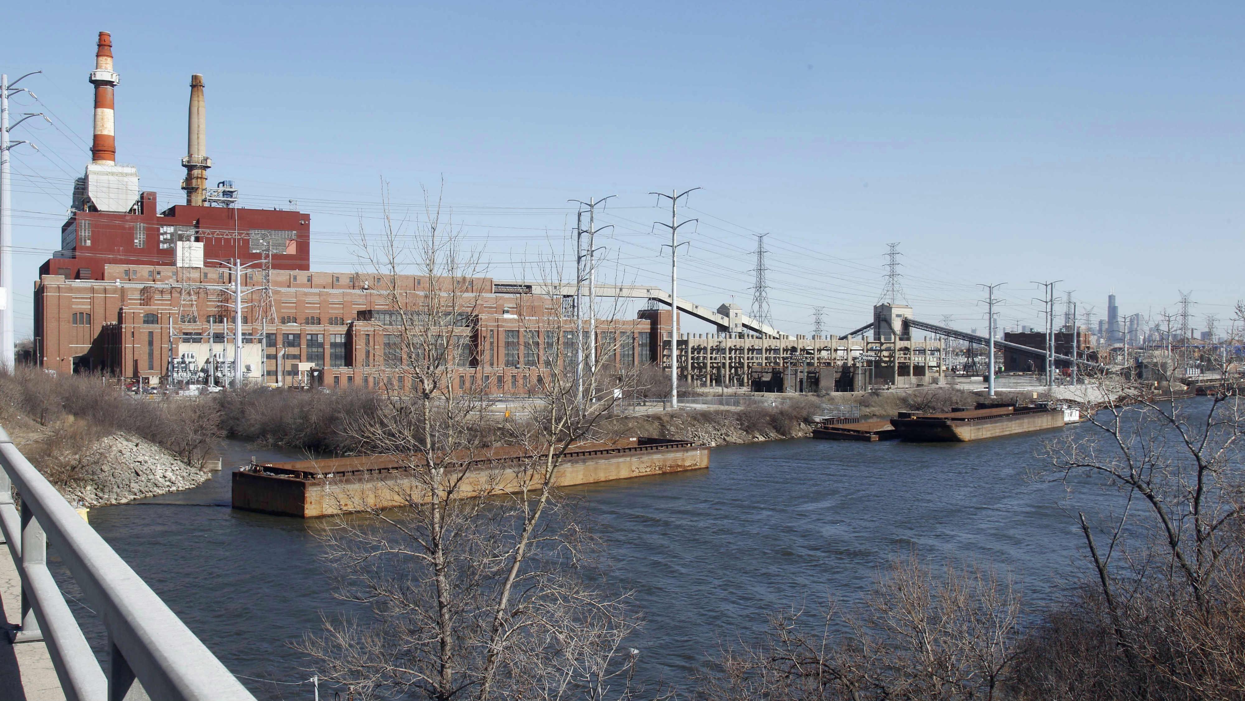 coal power plant chicago