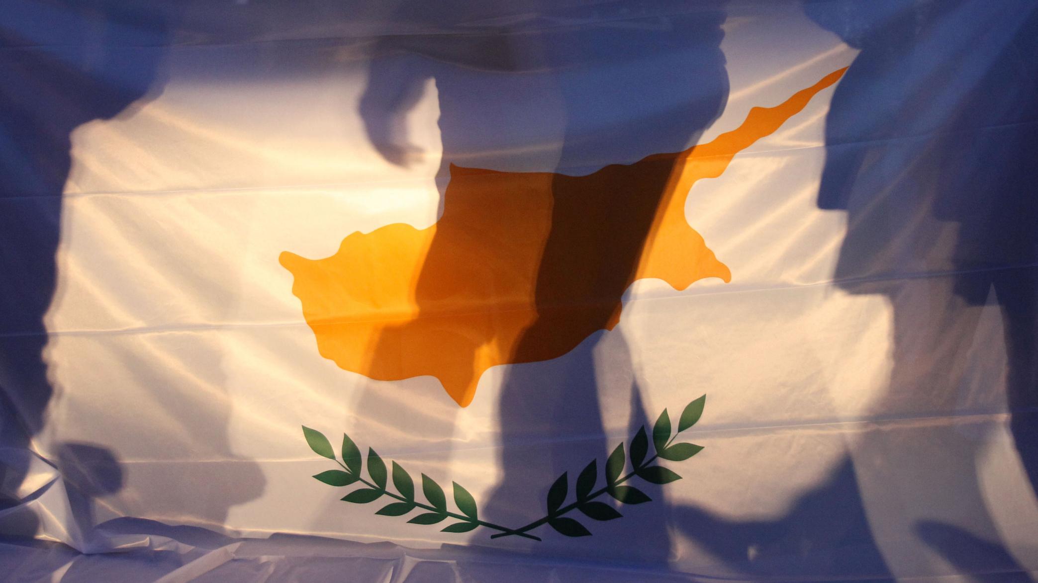 Cyprus bailout flag