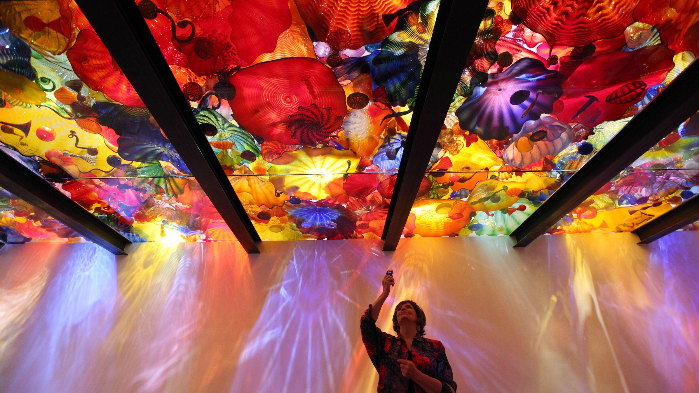 glass ceiling web