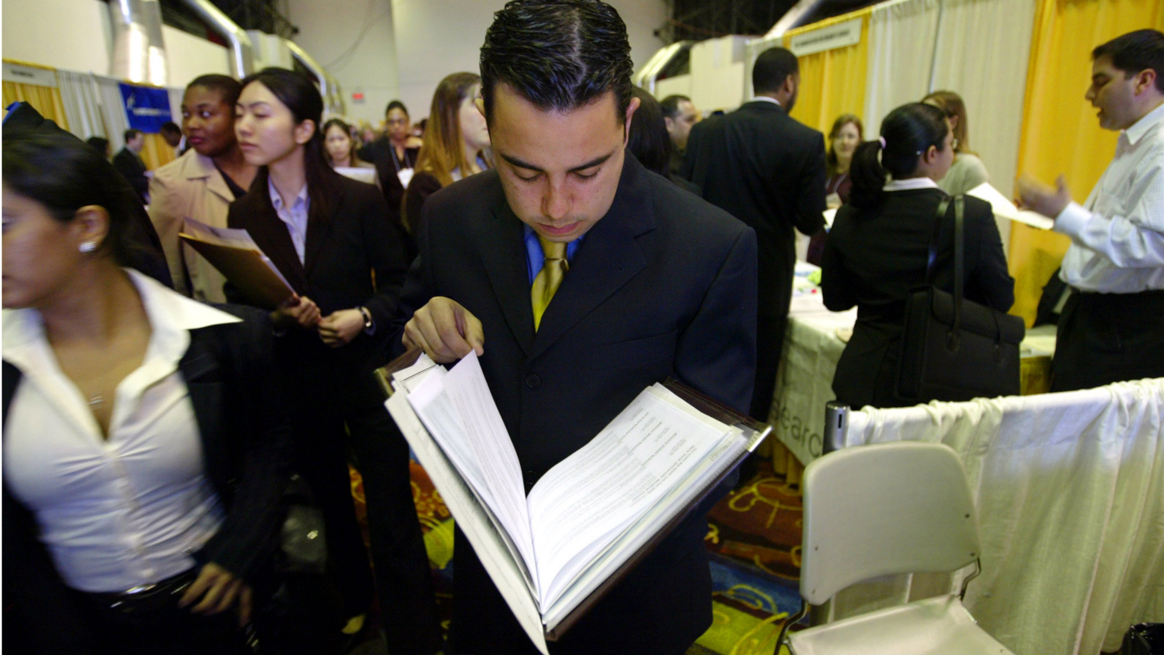 job fair AP Photo Bebeto Matthews