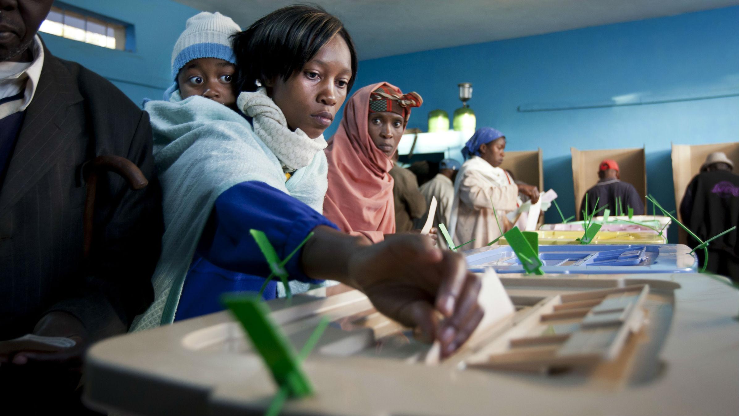 kenya elections electronic voting