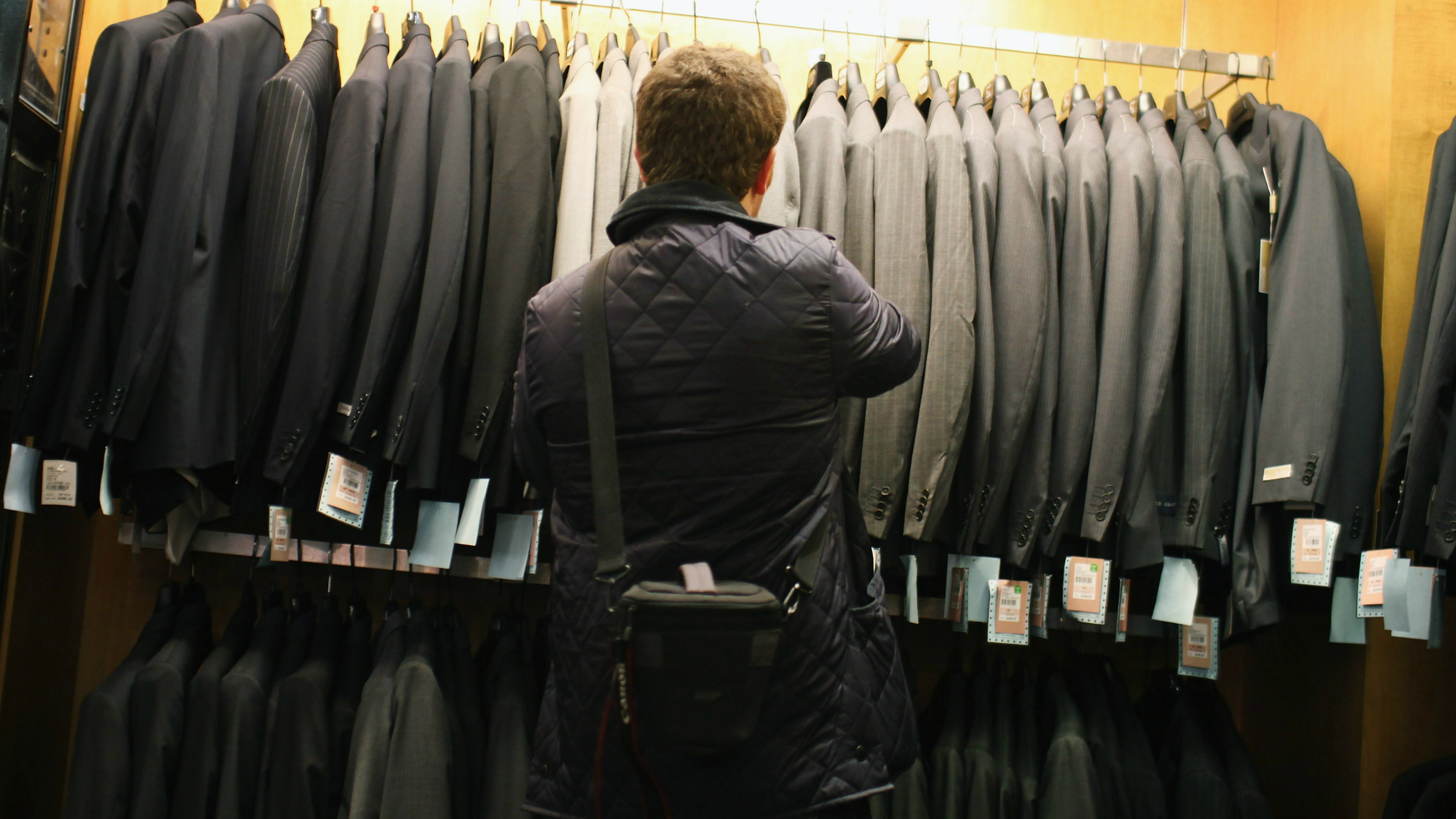 Men are shopaholics too