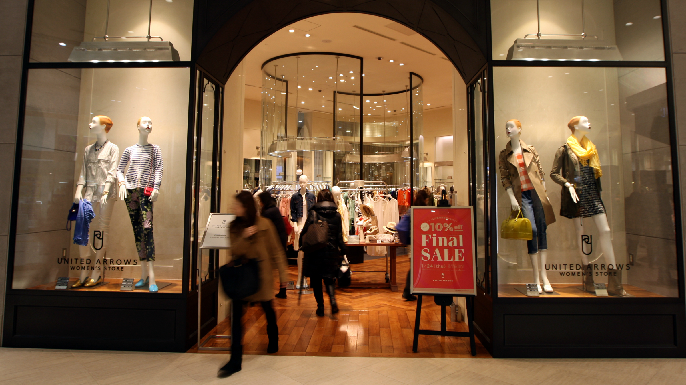 Middle-class folks should do less shopping