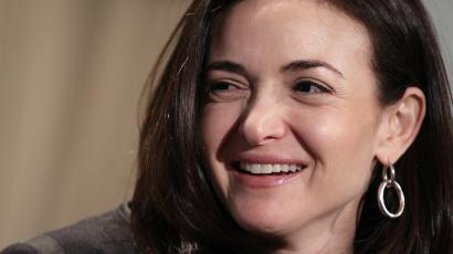 "In this Thursday, April 7, 2011, file photo, Sheryl Sandberg, Facebook's chief operating officer, speaks at a luncheon for the American Society of News Editors in San Diego. Sandberg's book ""Lean In: Women, Work, and the Will to Lead"" goes on sale Monday, March 11, 2013 amid criticism that she's too successful and rich to lead a movement. But she says her focus remains on spurring action and progress among women."