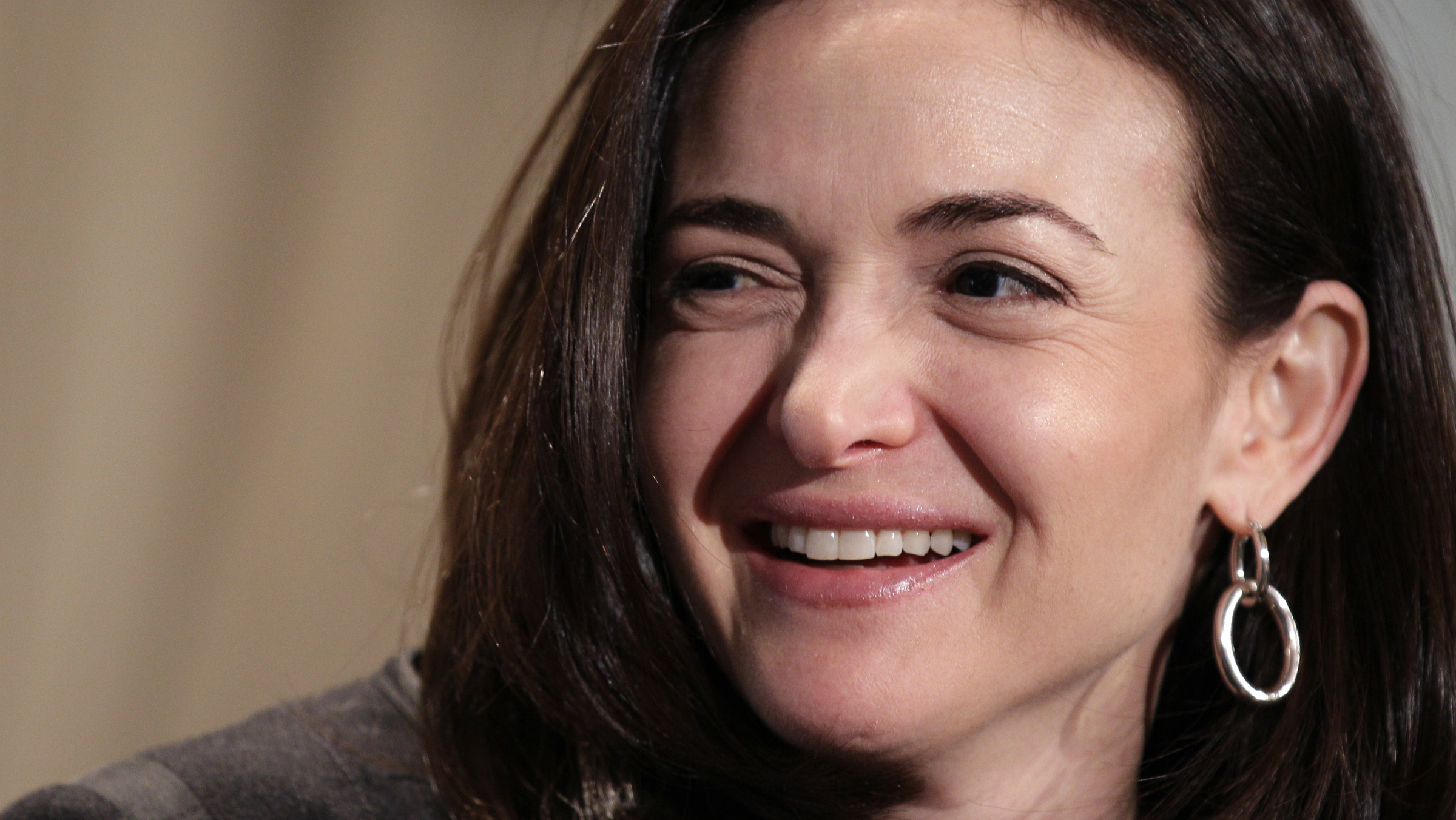 """In this Thursday, April 7, 2011, file photo, Sheryl Sandberg, Facebook's chief operating officer, speaks at a luncheon for the American Society of News Editors in San Diego. Sandberg's book """"Lean In: Women, Work, and the Will to Lead"""" goes on sale Monday, March 11, 2013 amid criticism that she's too successful and rich to lead a movement. But she says her focus remains on spurring action and progress among women."""