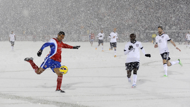 Snow Soccer