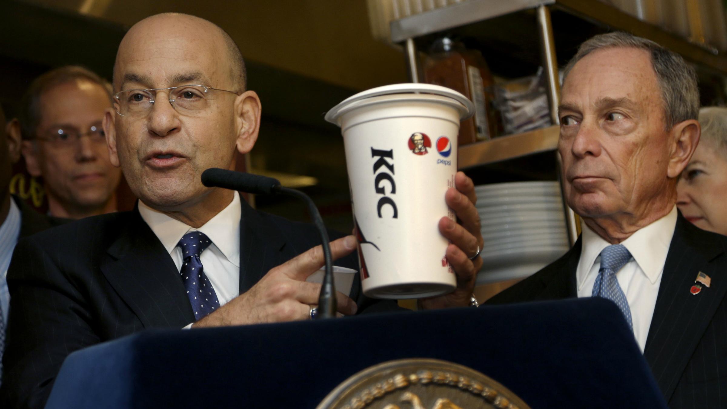 Bloomberg presser soda ban