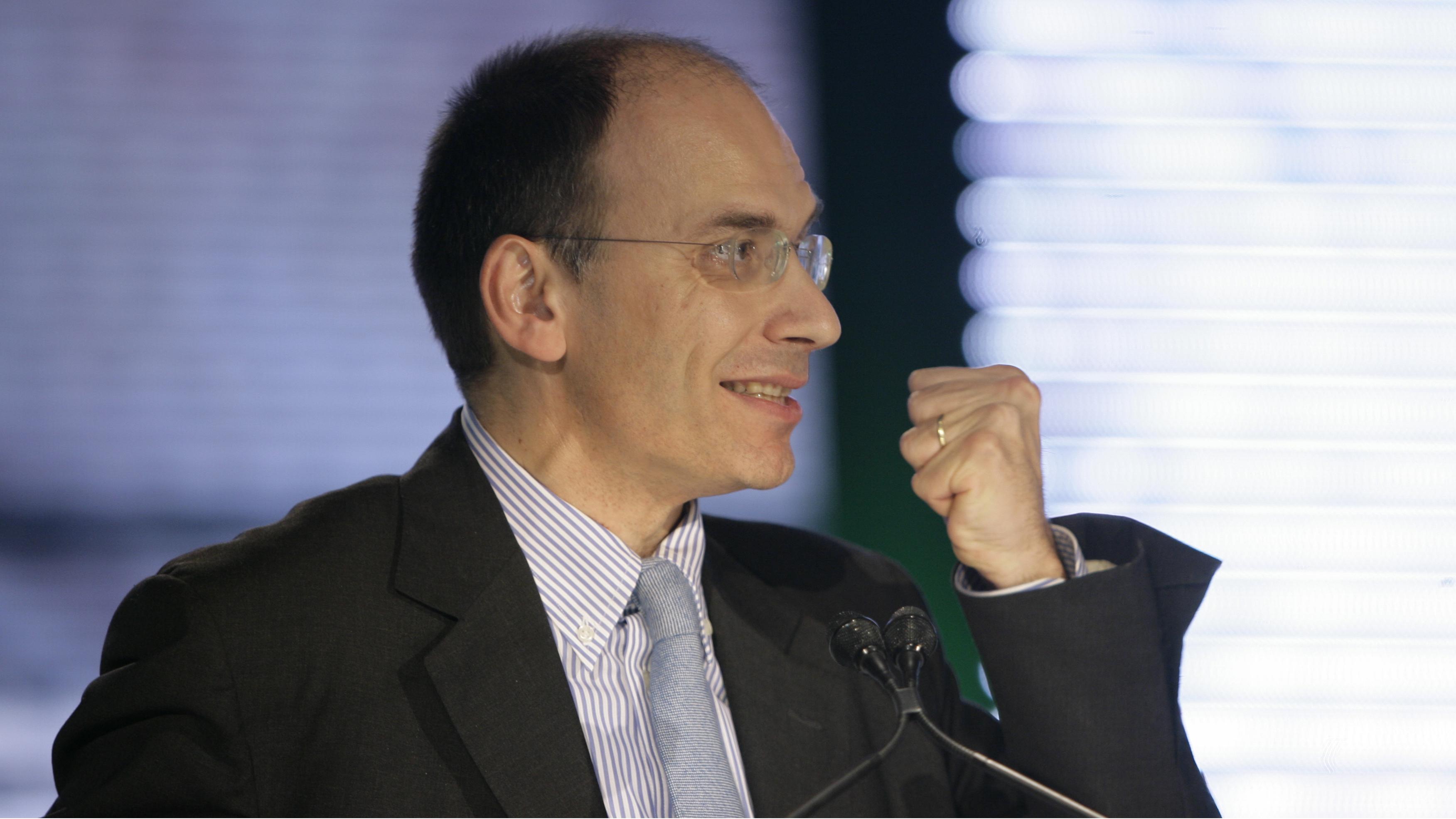 enrico letta italy prime minister