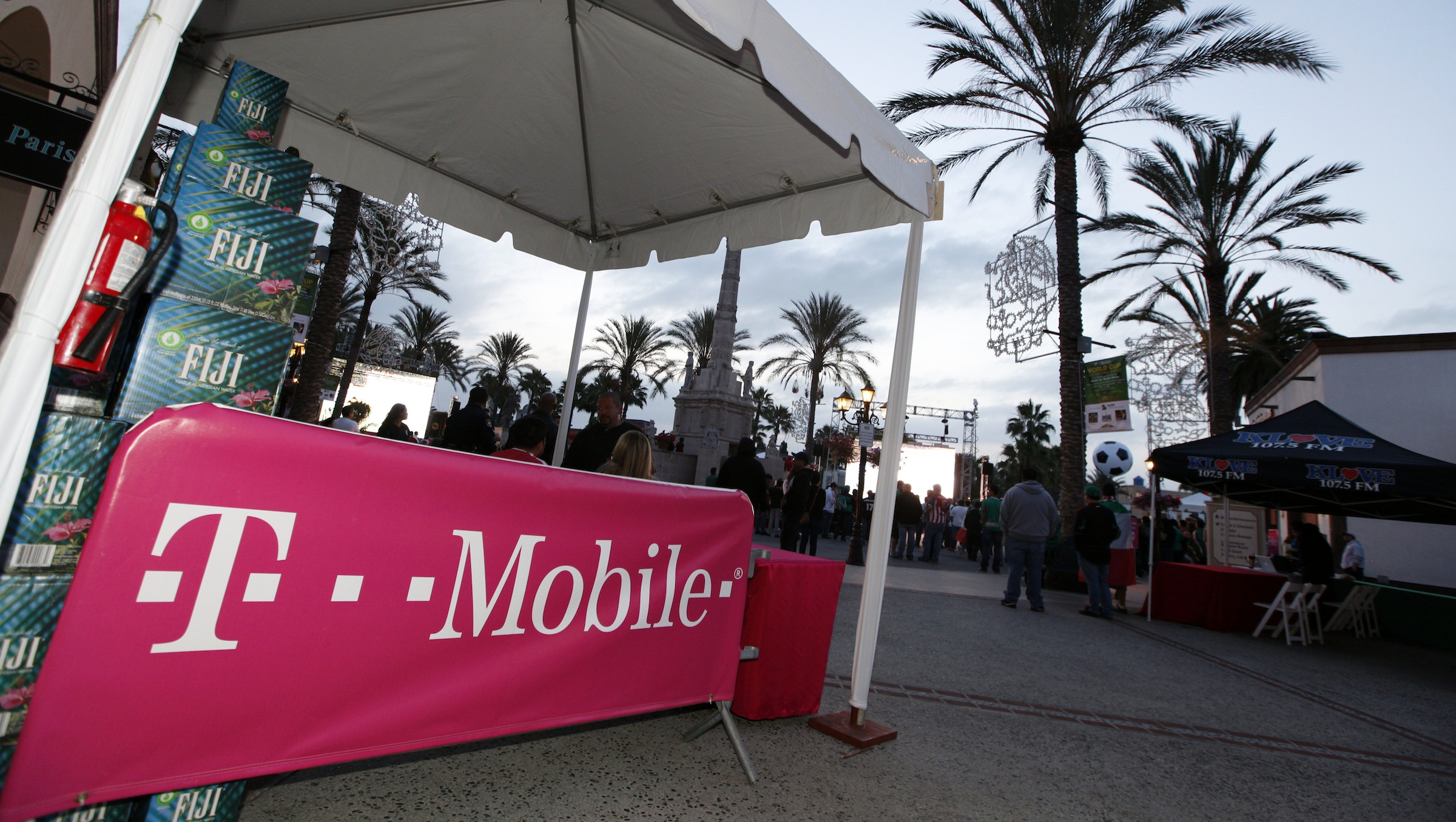 A general view of atmosphere at the T-Mobile World Cup Viewing Party at Plaza Mexico on Friday, June 11, 2010 in Lynwood, Calif.  (Casey Rodgers/AP Images for T-Mobile)