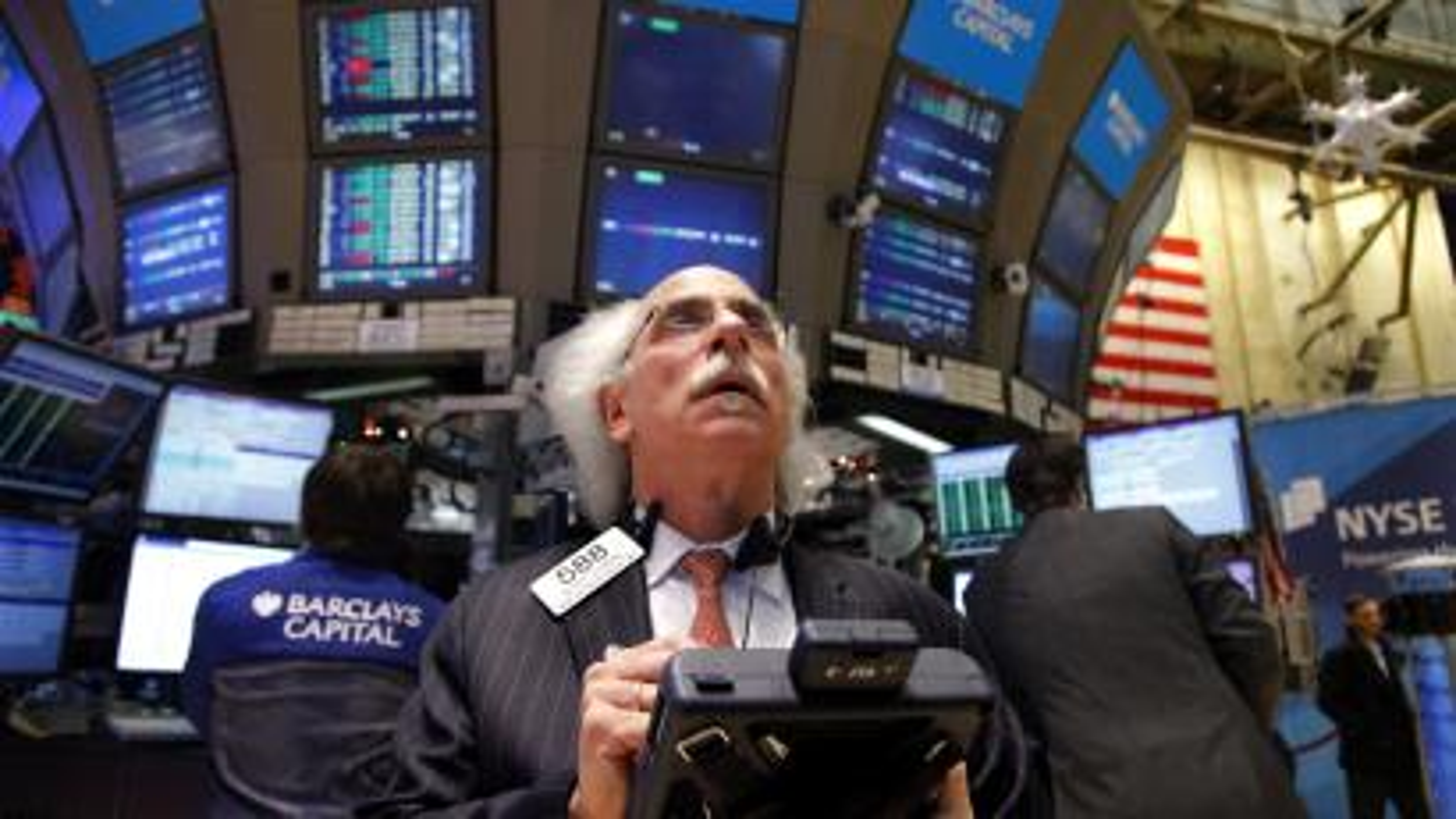 white haired trader stocks