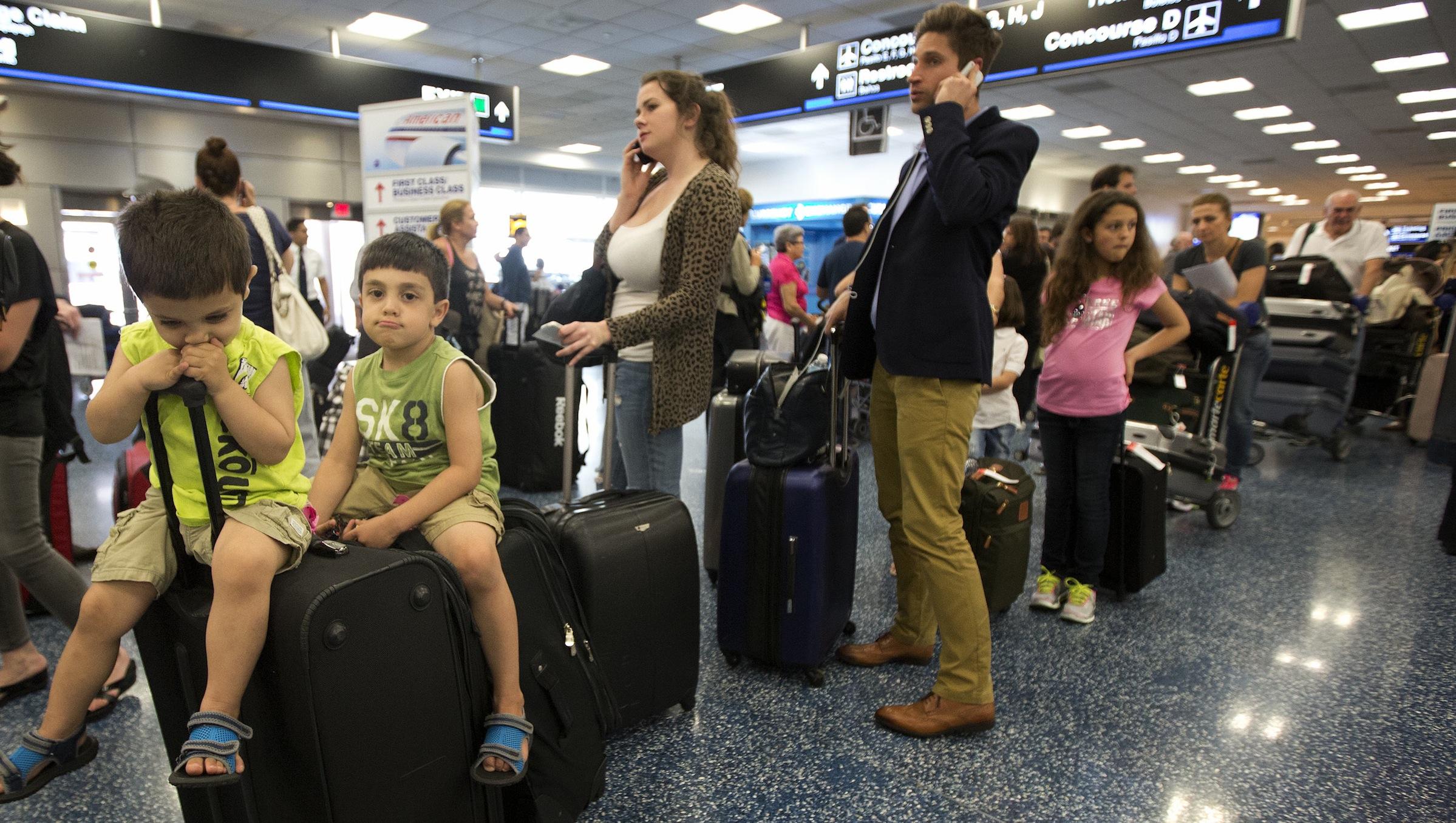 Congress flight delays