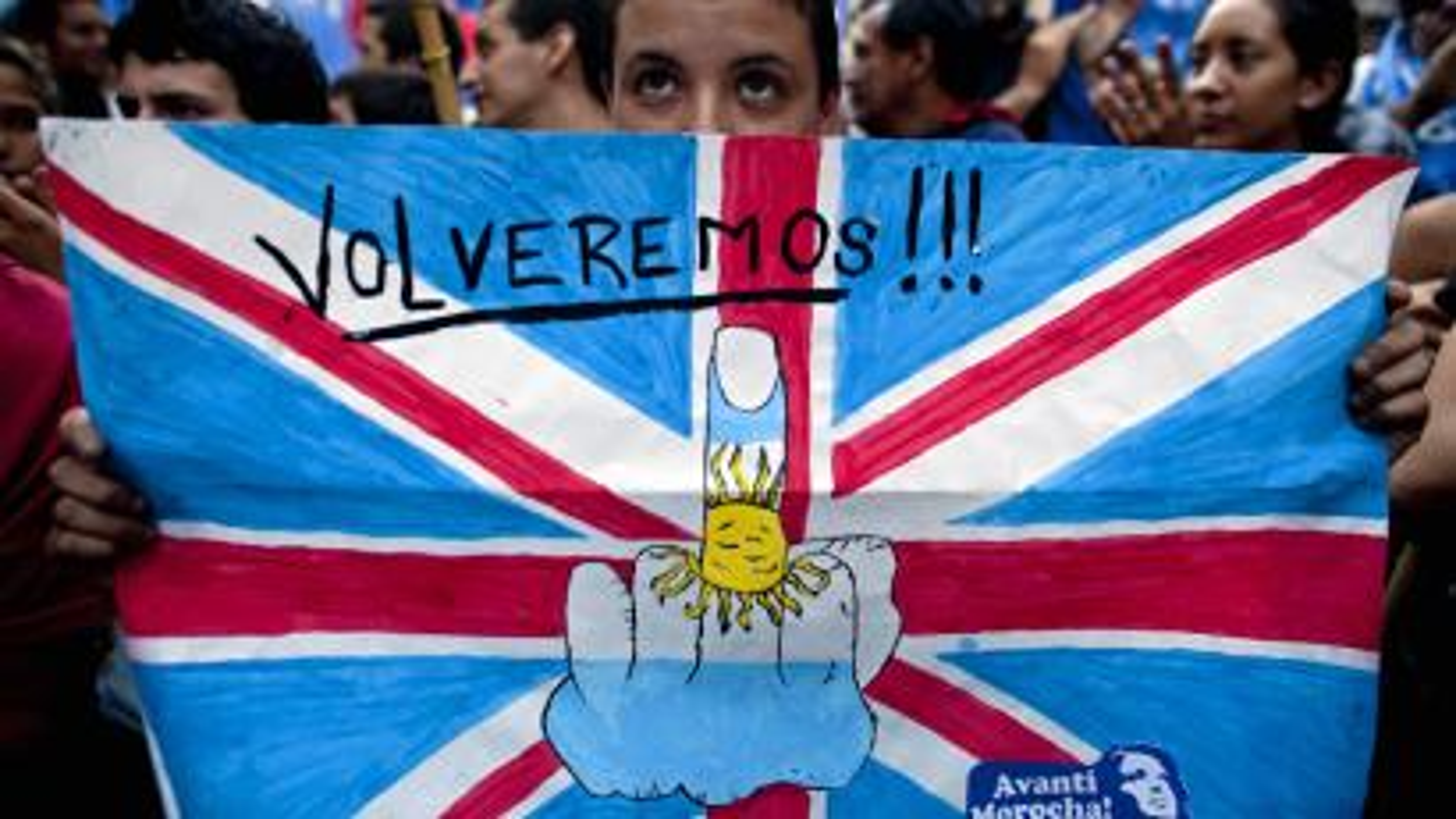 Argentina Protests Falkland Islands