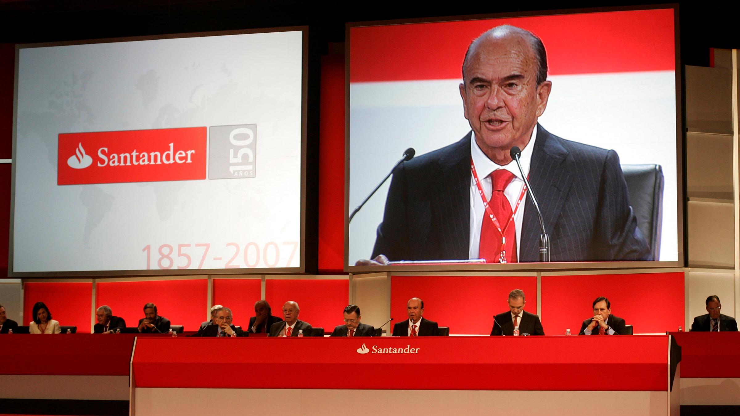Banco Santander Emilio Botin