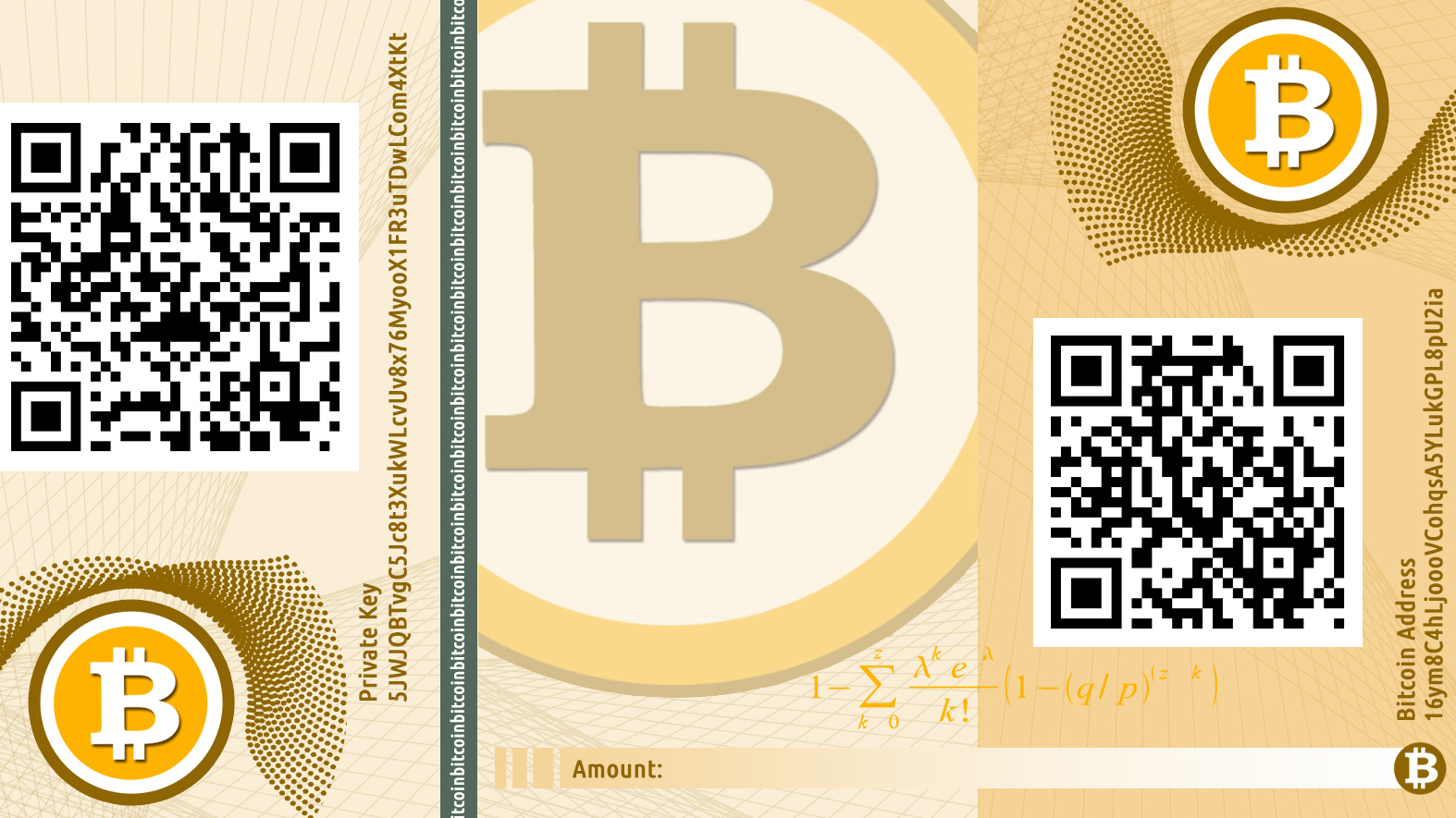 bitcoin banknote shorting bitcoins
