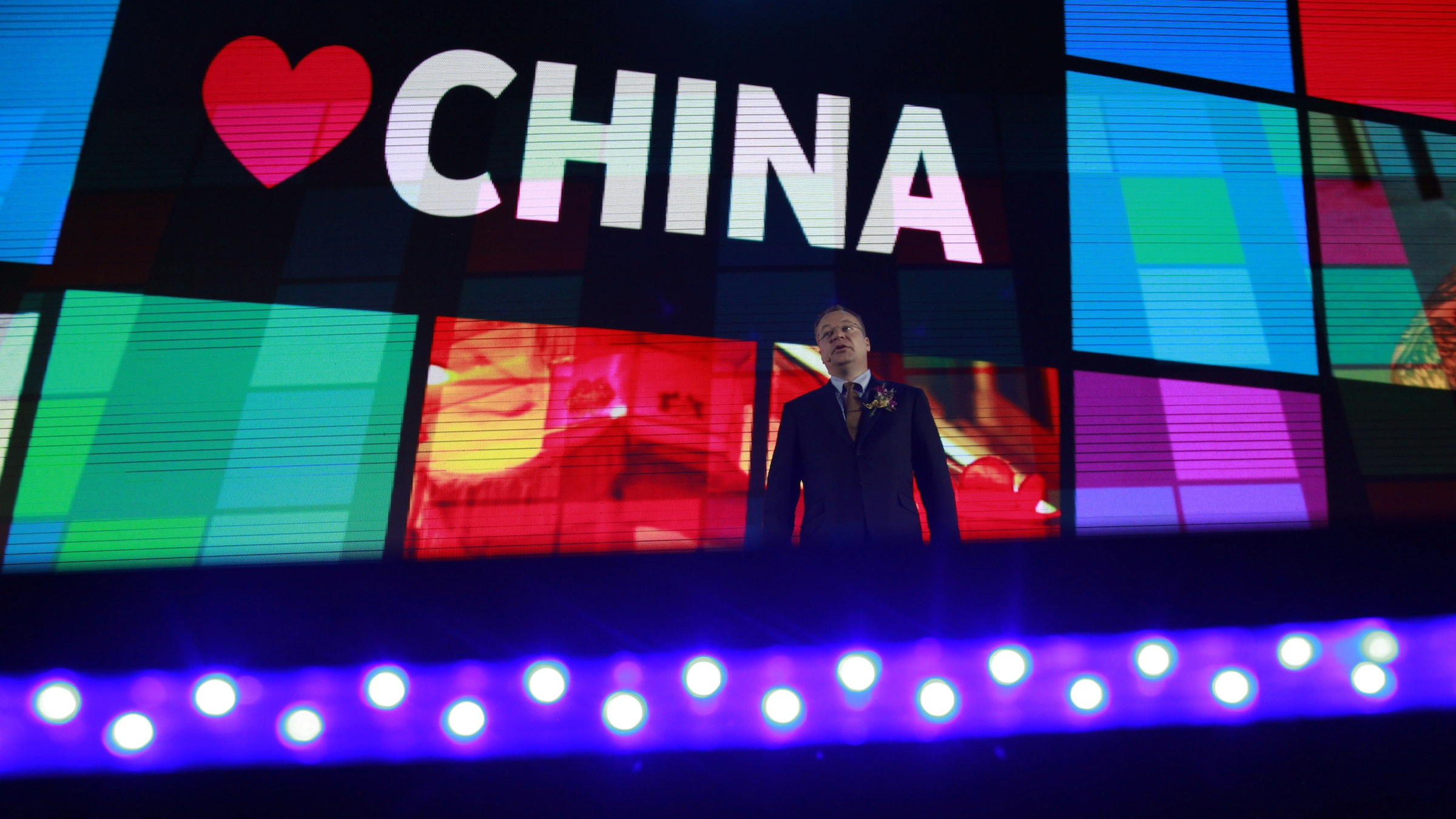 Nokia CEO in China