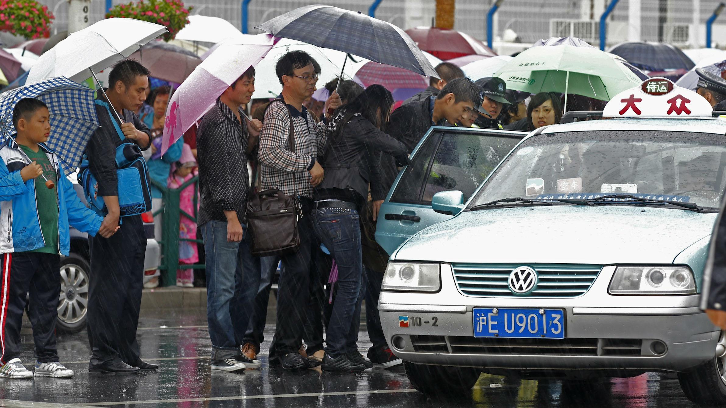 China taxi web