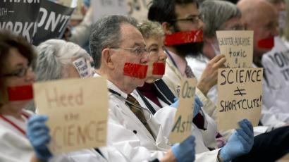 Doctors Protest Fracking