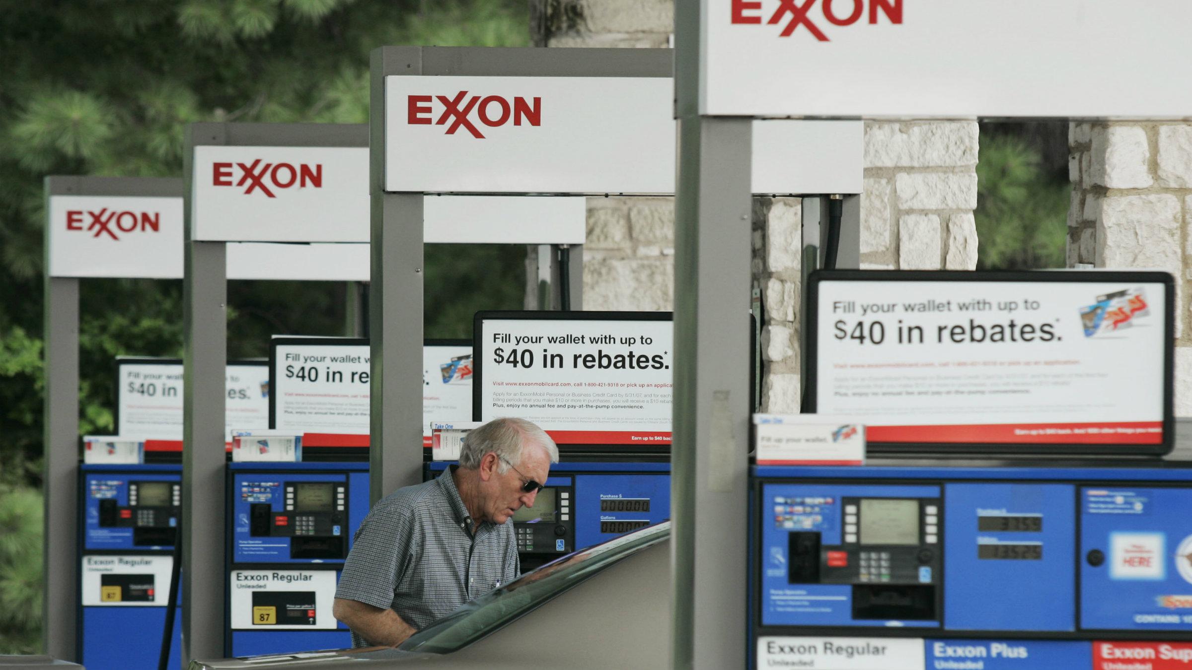 ExxonMobil gas station