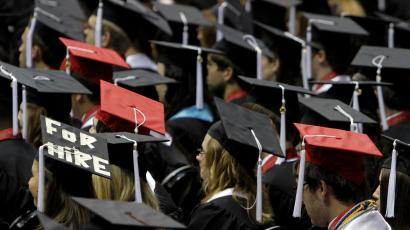 students graduating debt