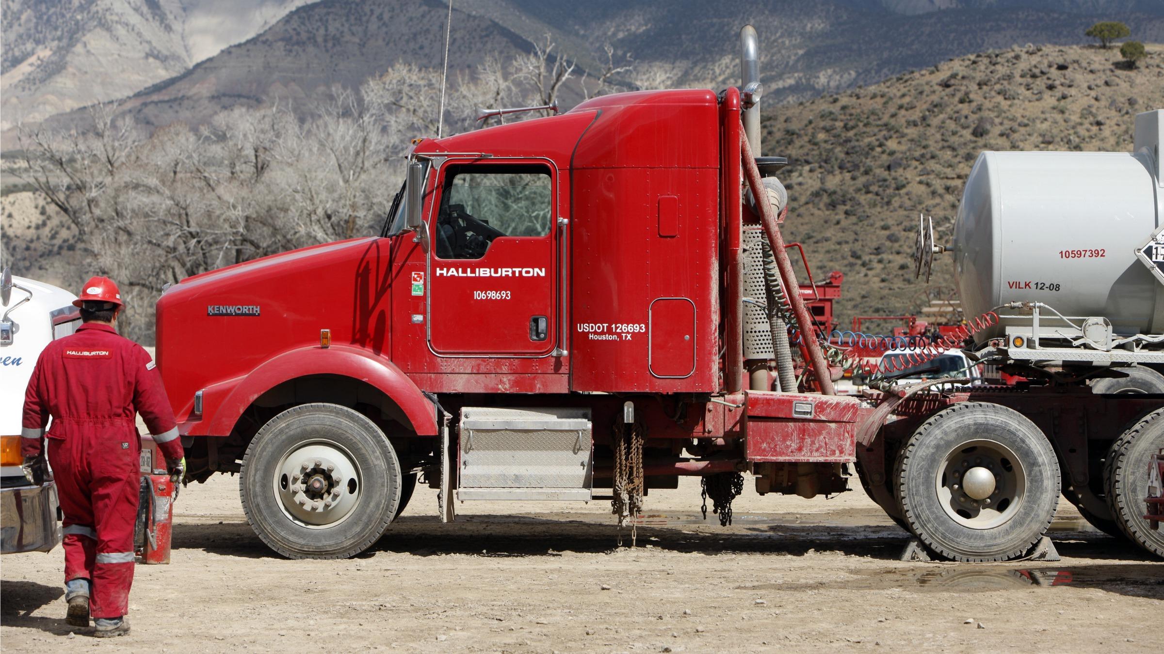 Halliburton Truck