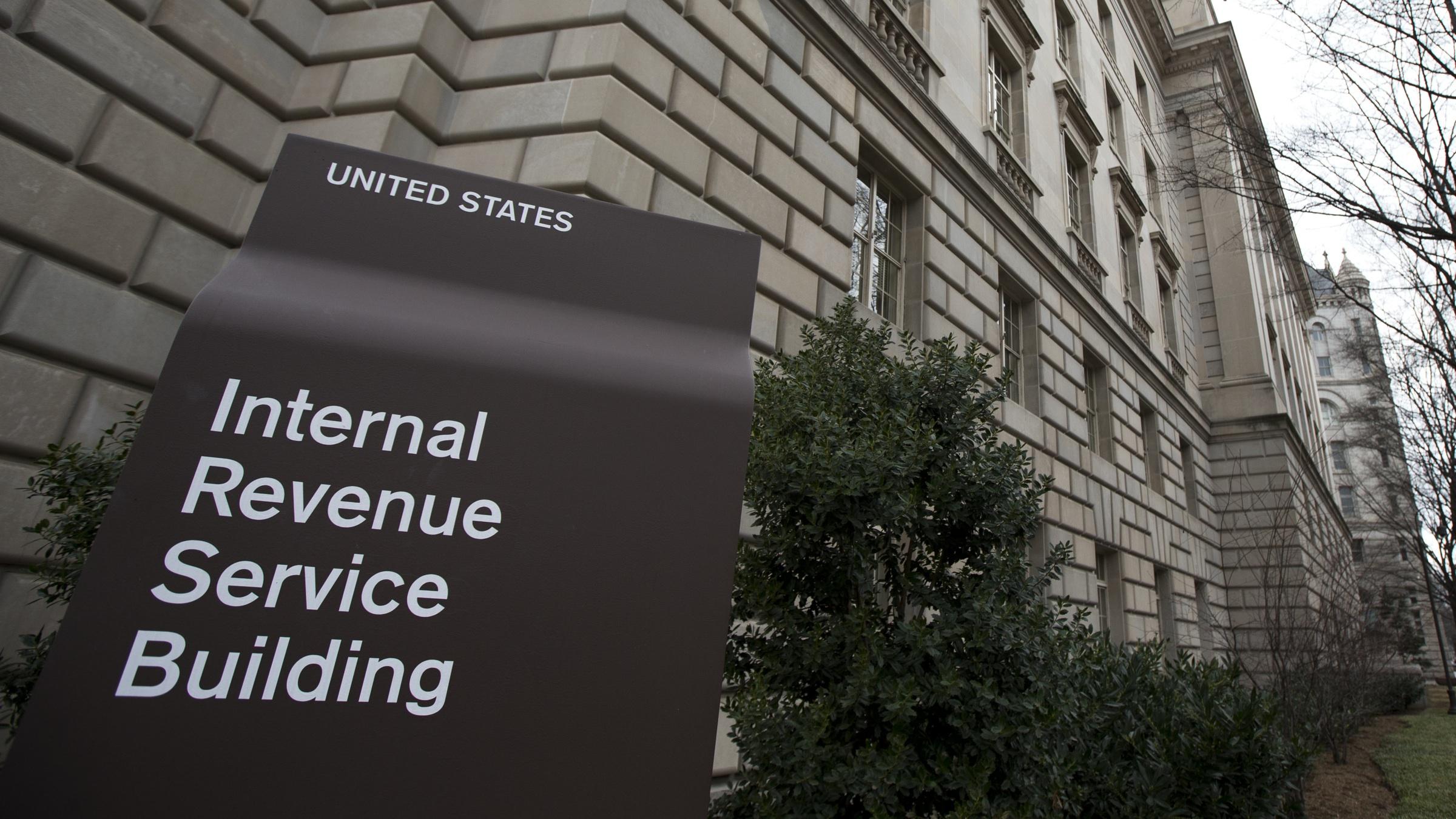 IRS headquarters bitcoin