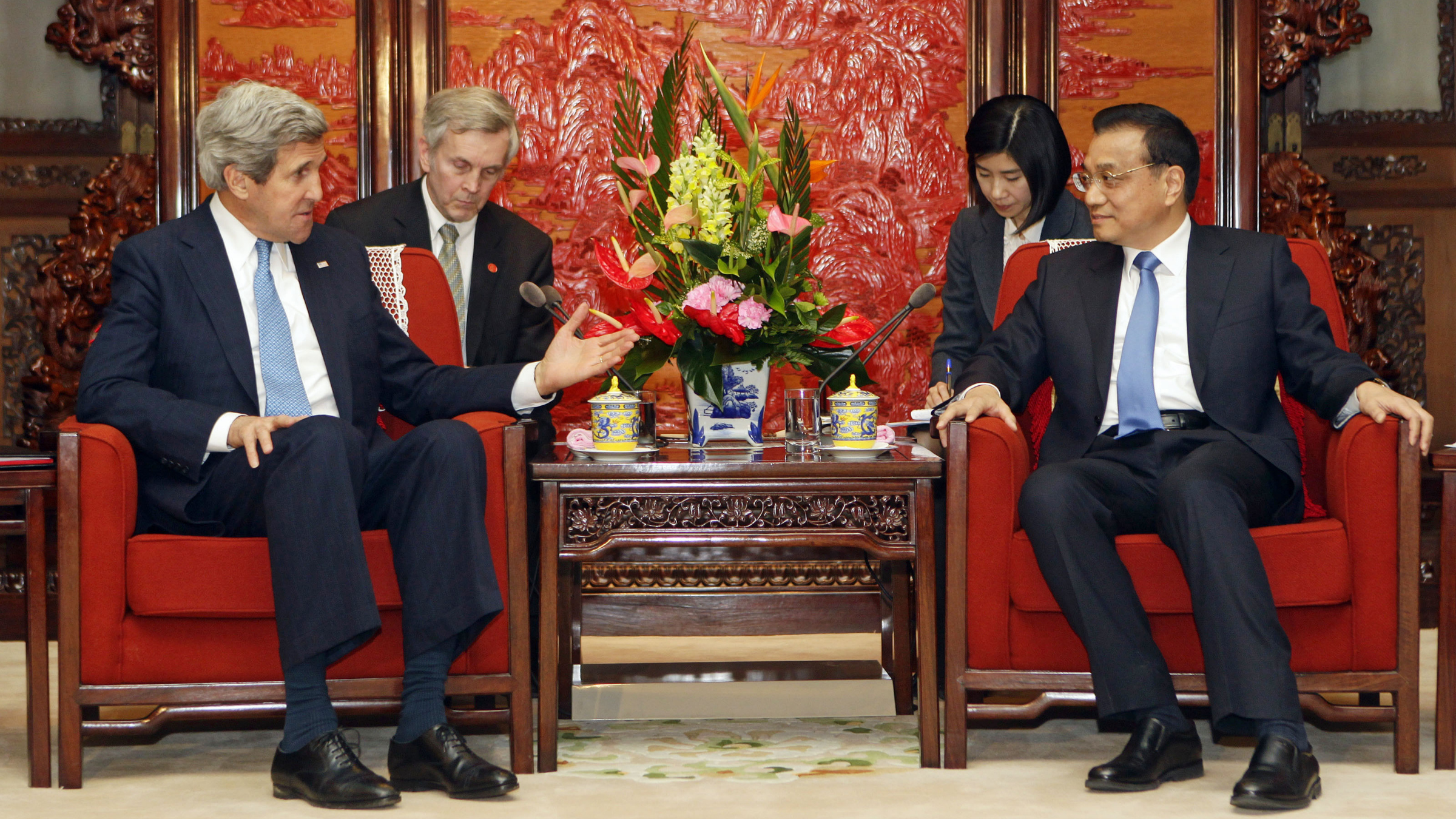 John Kerry visits China