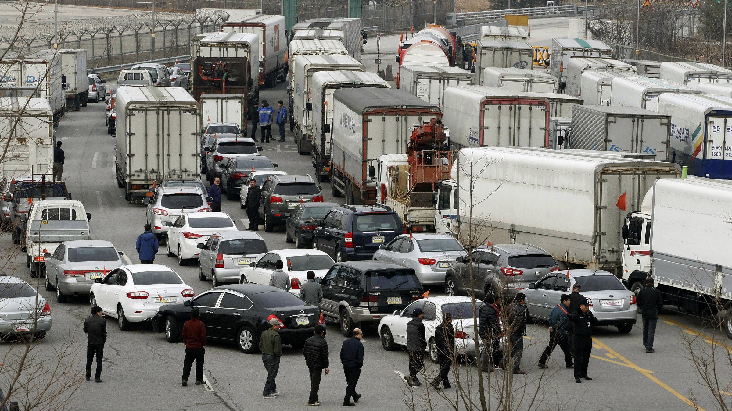 The world's tensest commute