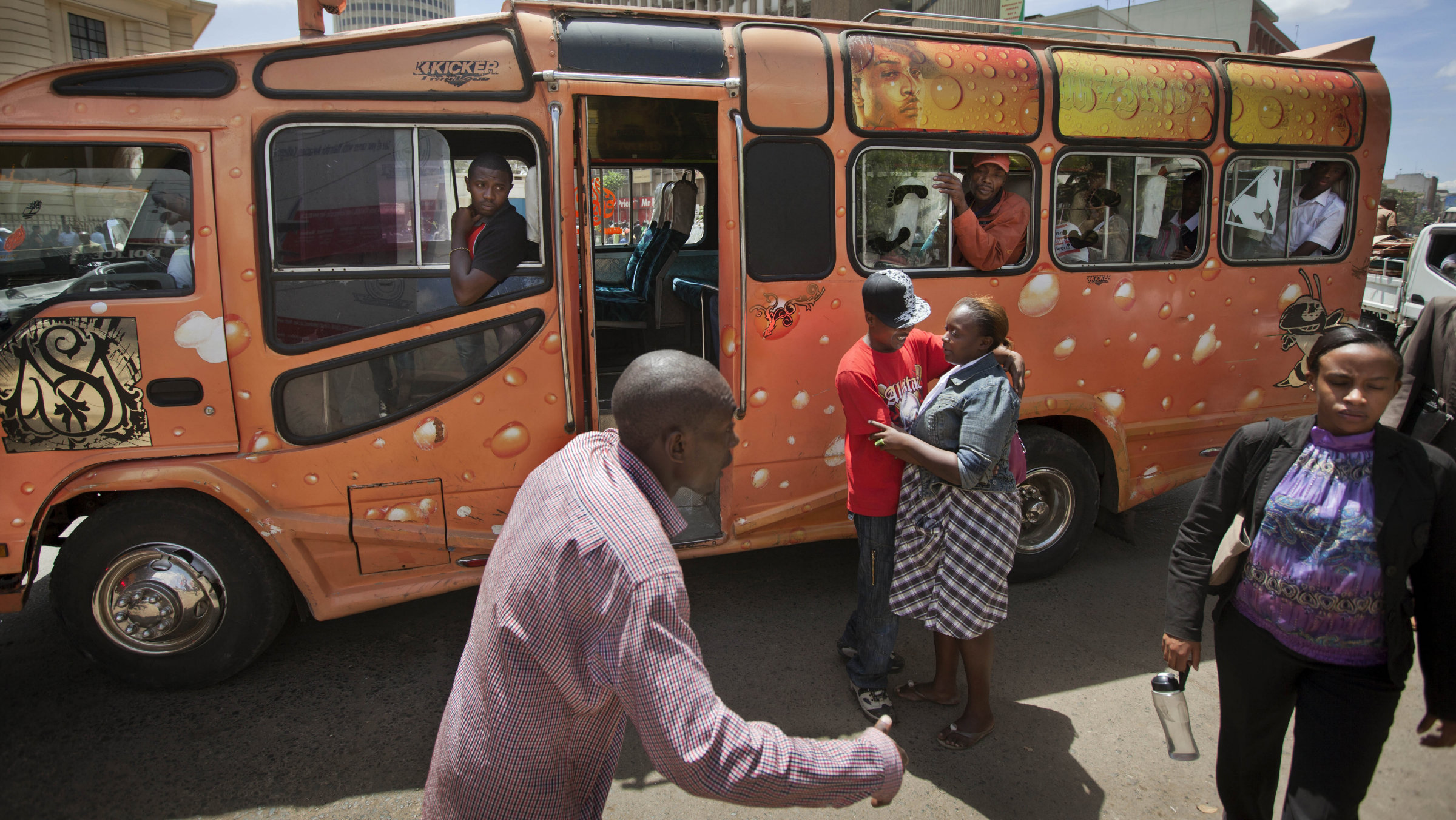 Kenya bus driver payments