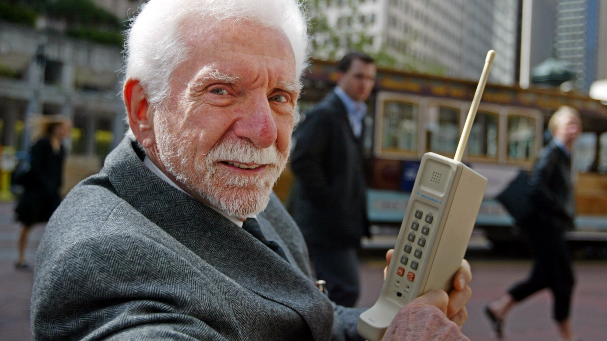 The first mobile phone call was made 40 years ago today