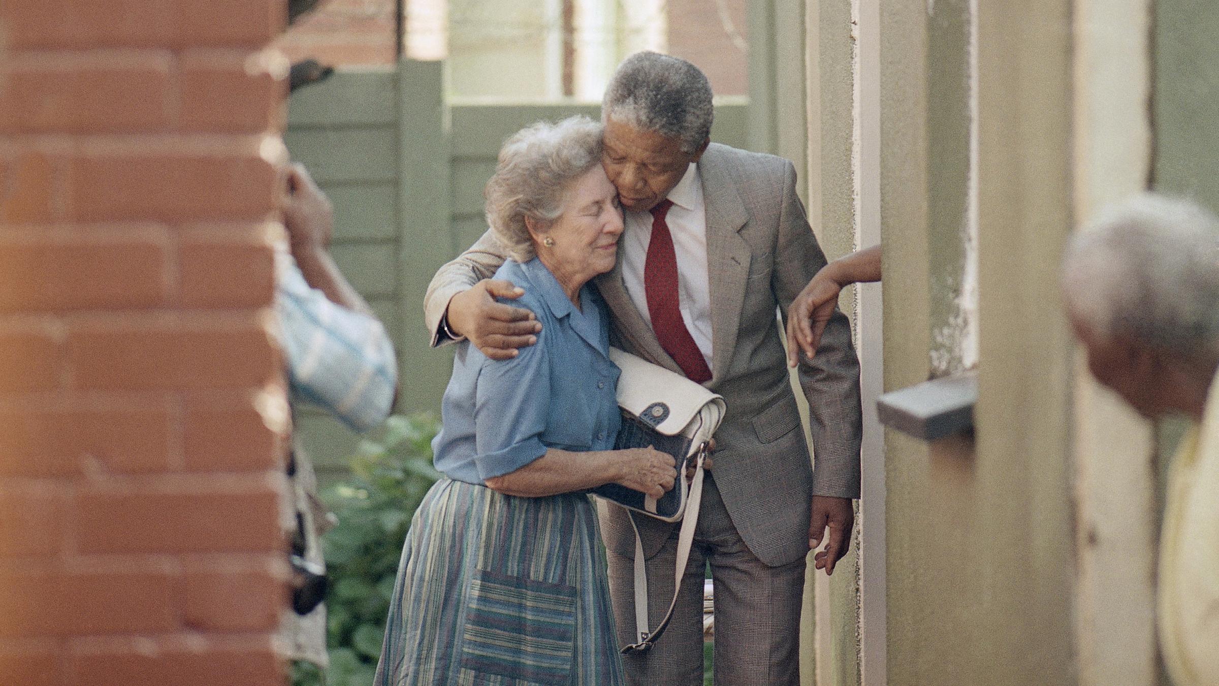 Nelson Mandela and Helen Suzman