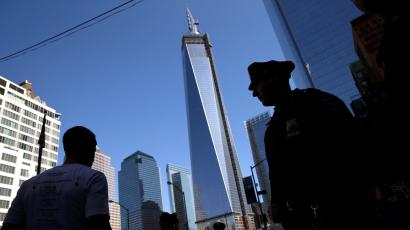 One World Trade Center is about to become the tallest