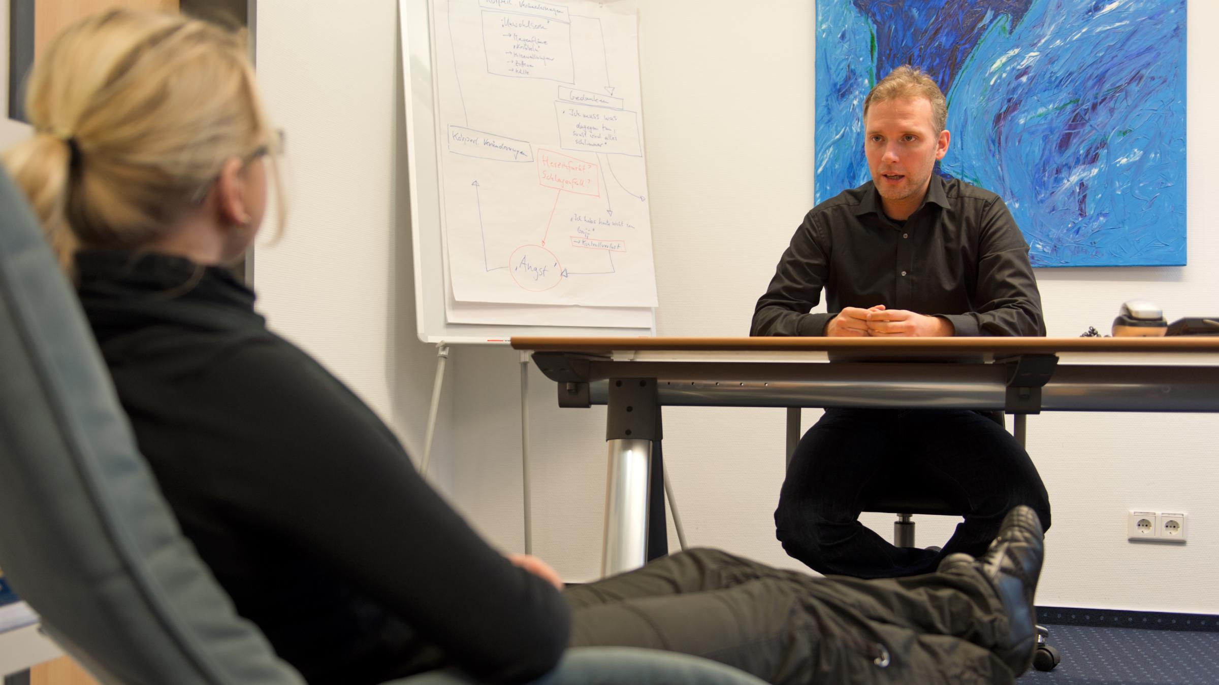 Psychologist session