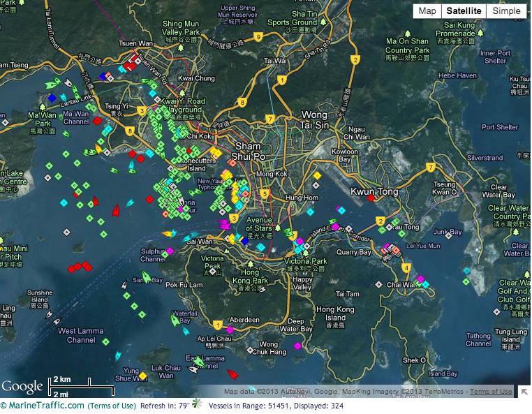 ships hong kong port strike