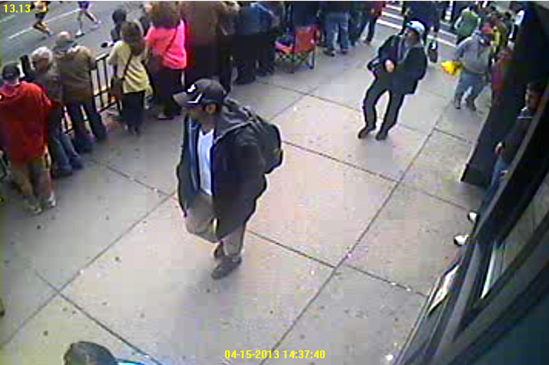 suspects1and2 boston marathon bombings