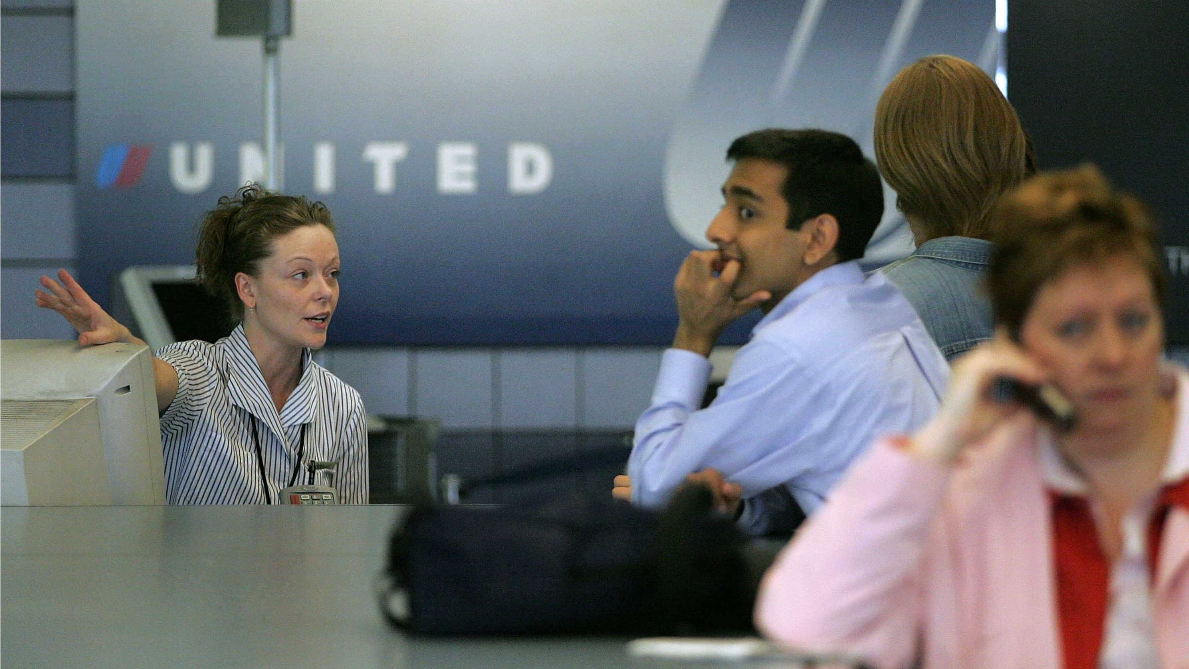 Upset air travelers are an airline's worst nightmare.