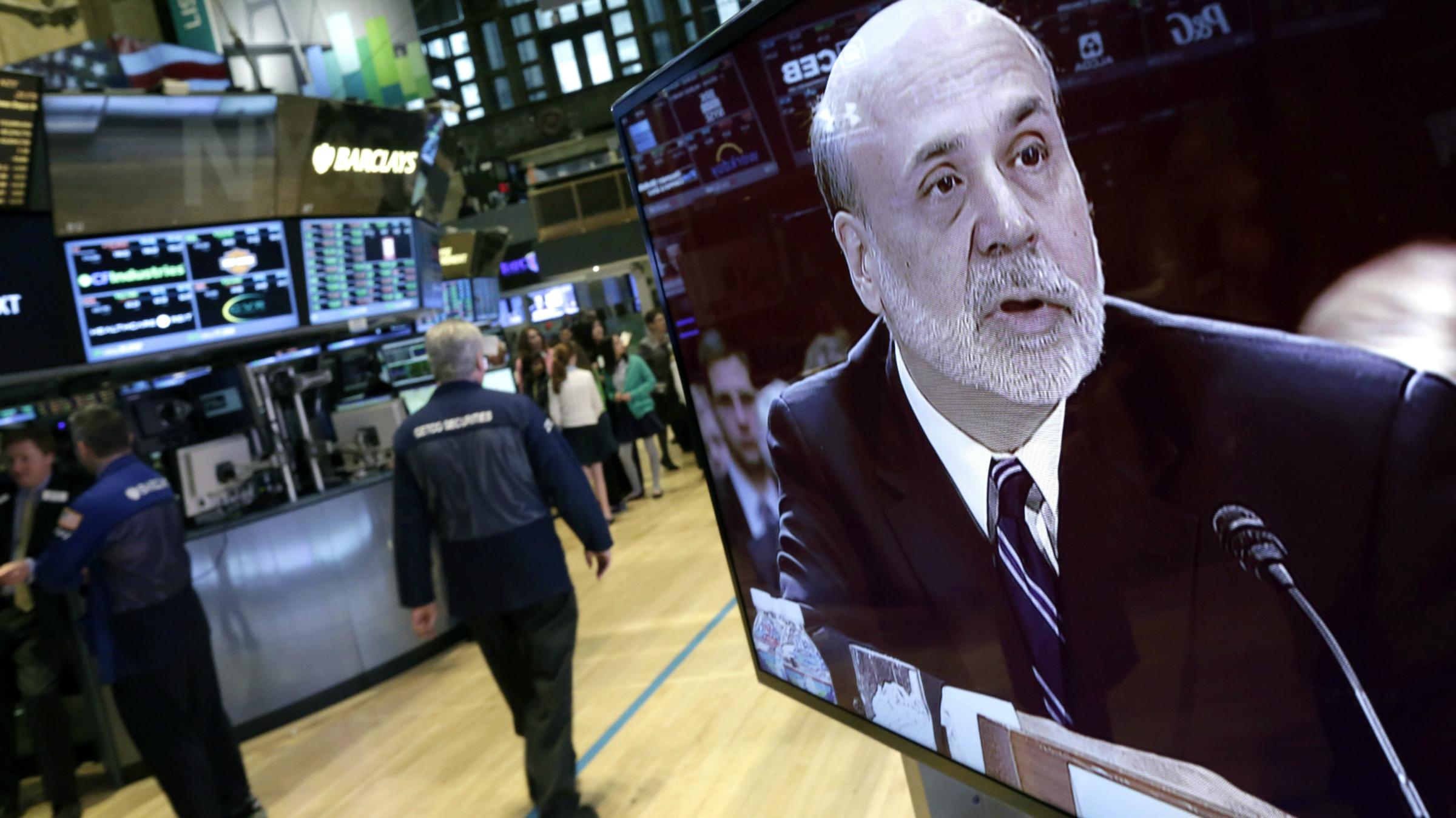 Ben Bernanke markets trading QE