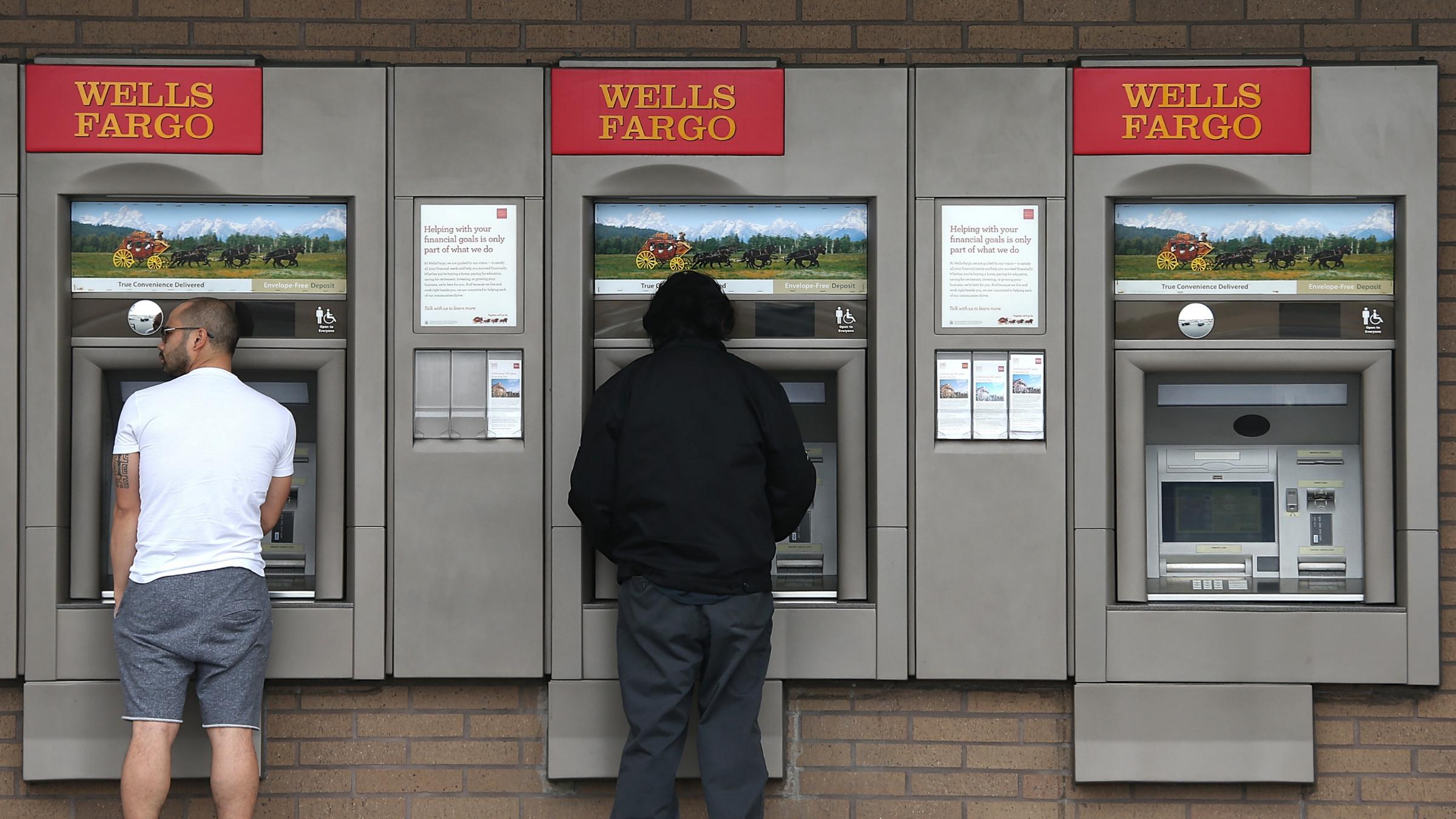 Wells Fargo ATM machines
