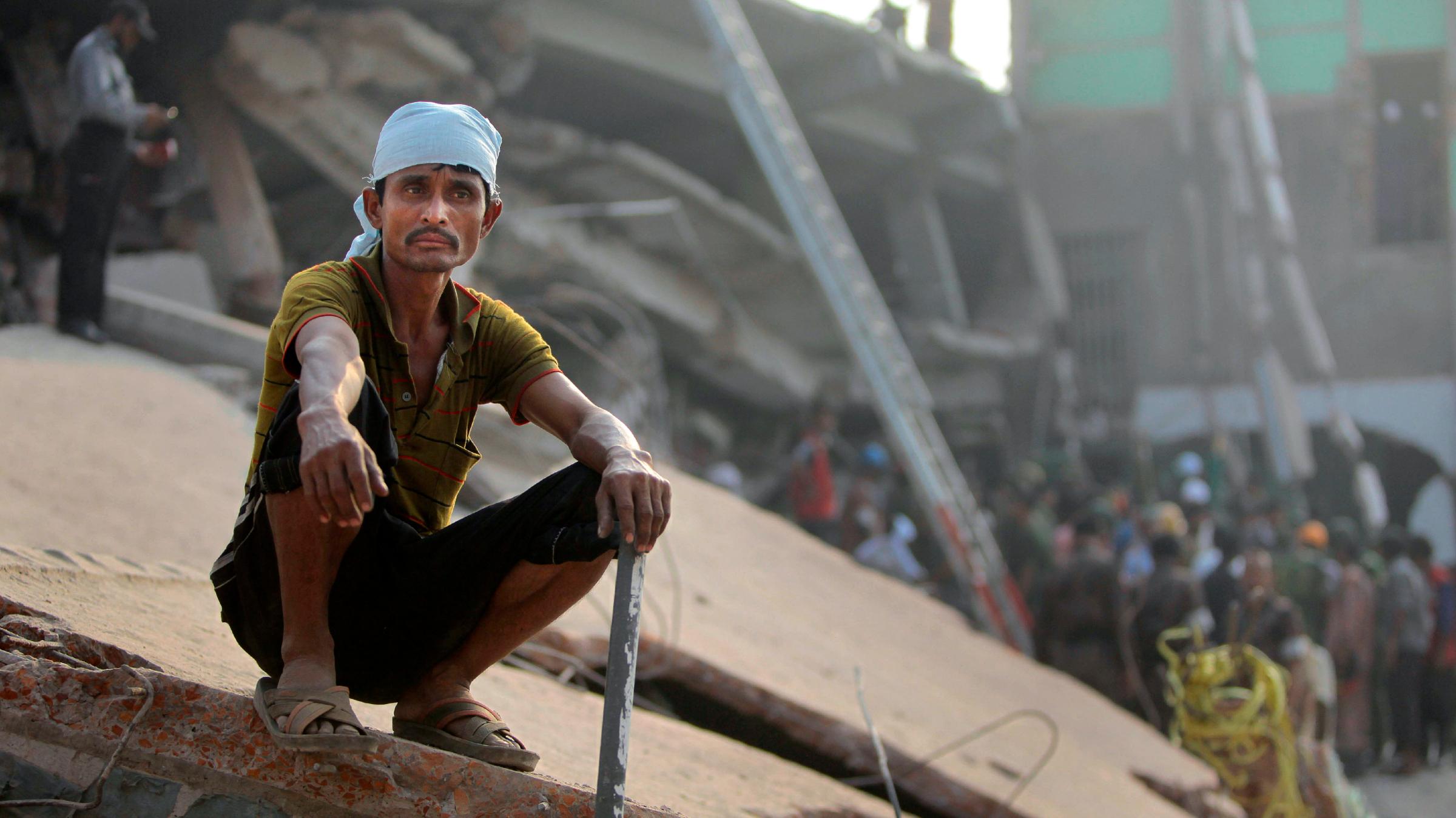 Bangladeshi factory worker
