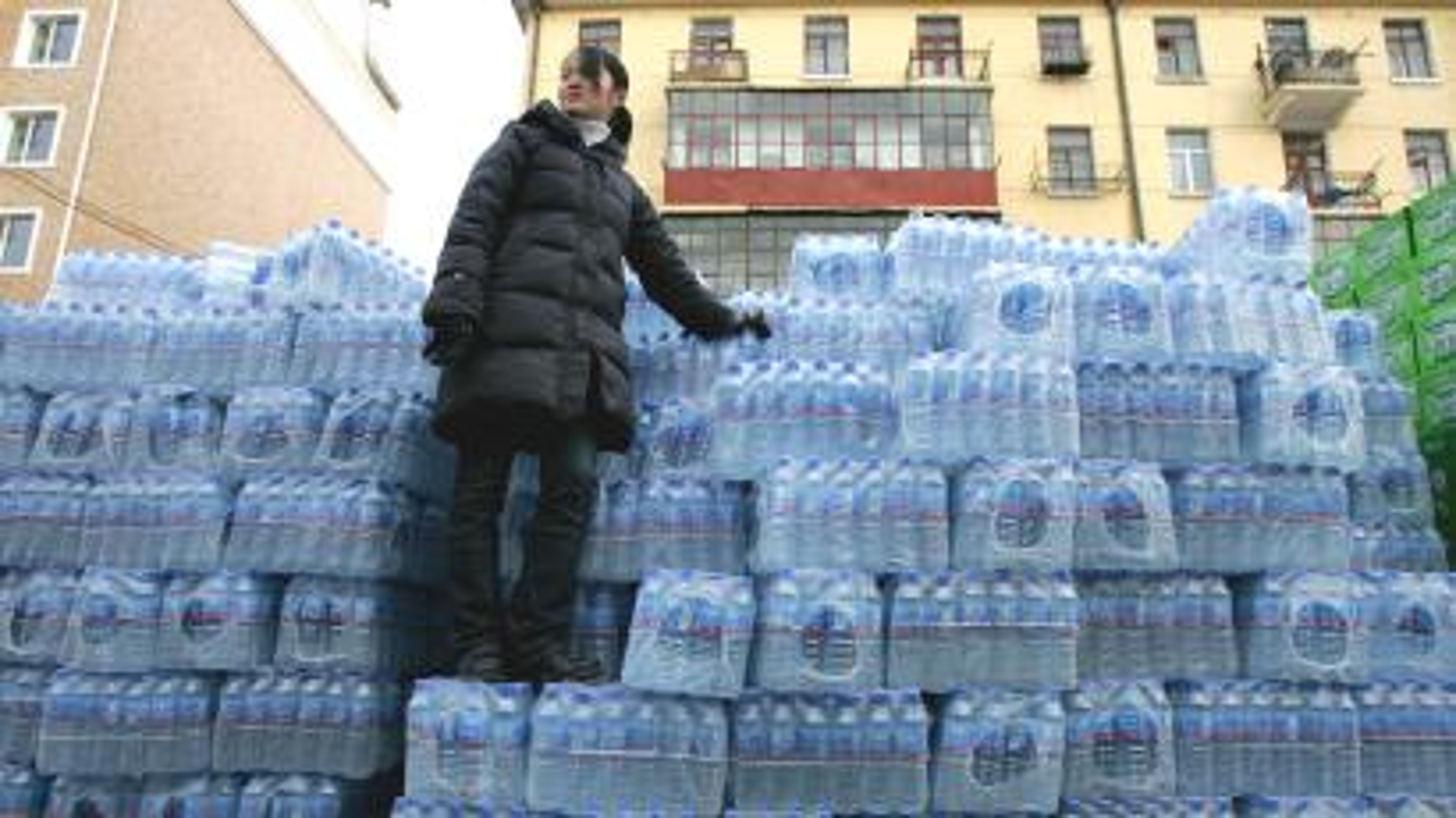 China bottled water