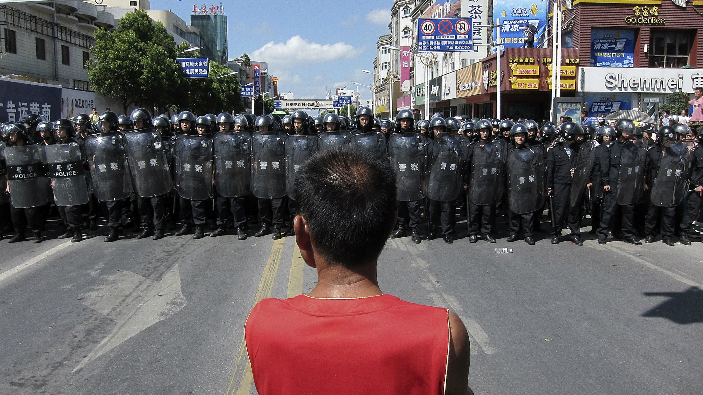 ChineseRiotPolice