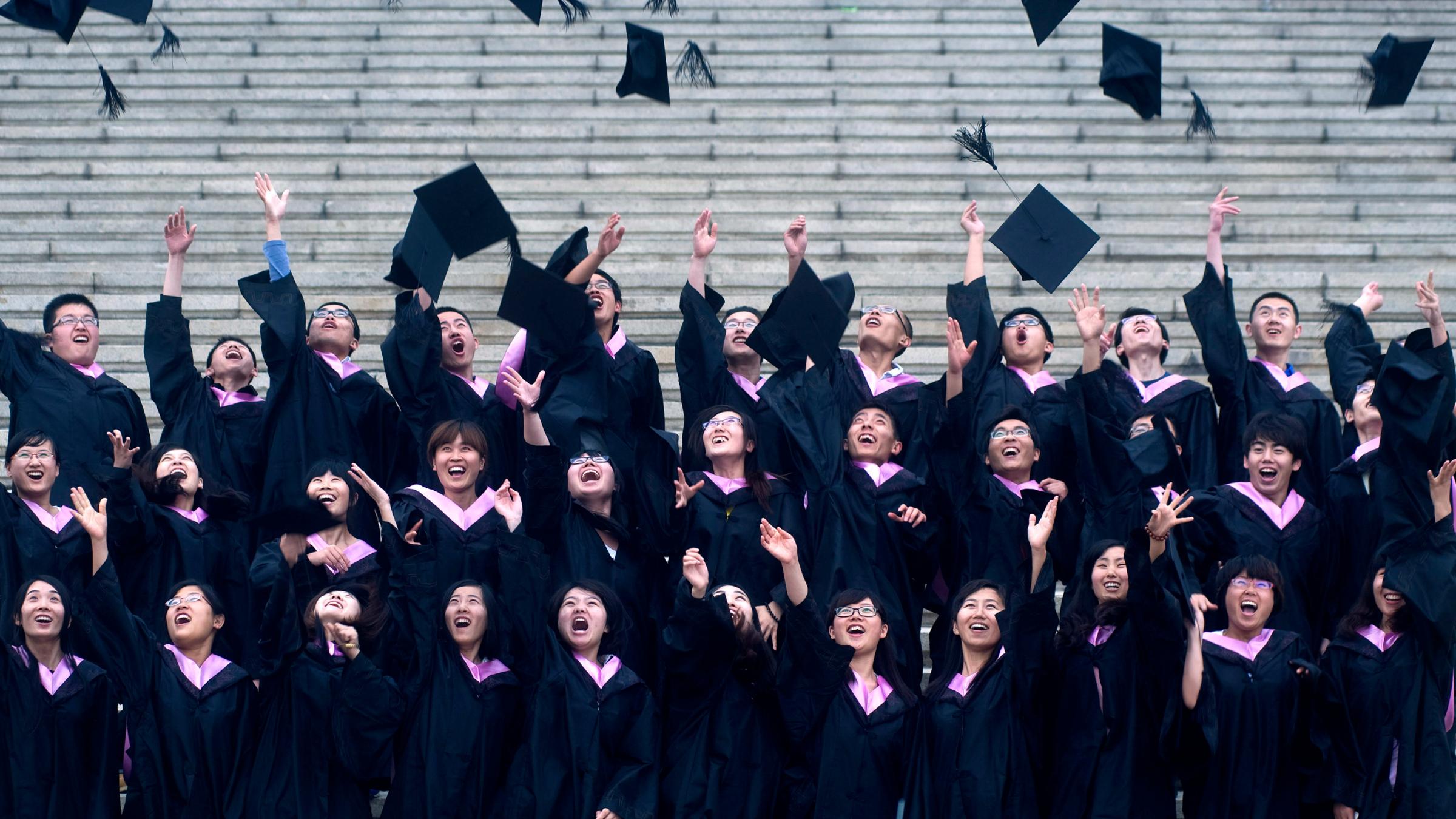 College graduates in China